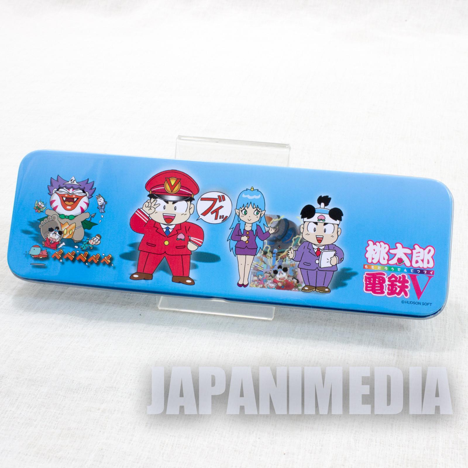 Momotaro Dentetsu Can Pen Case Hudson Momotetsu JAPAN ANIME GAME