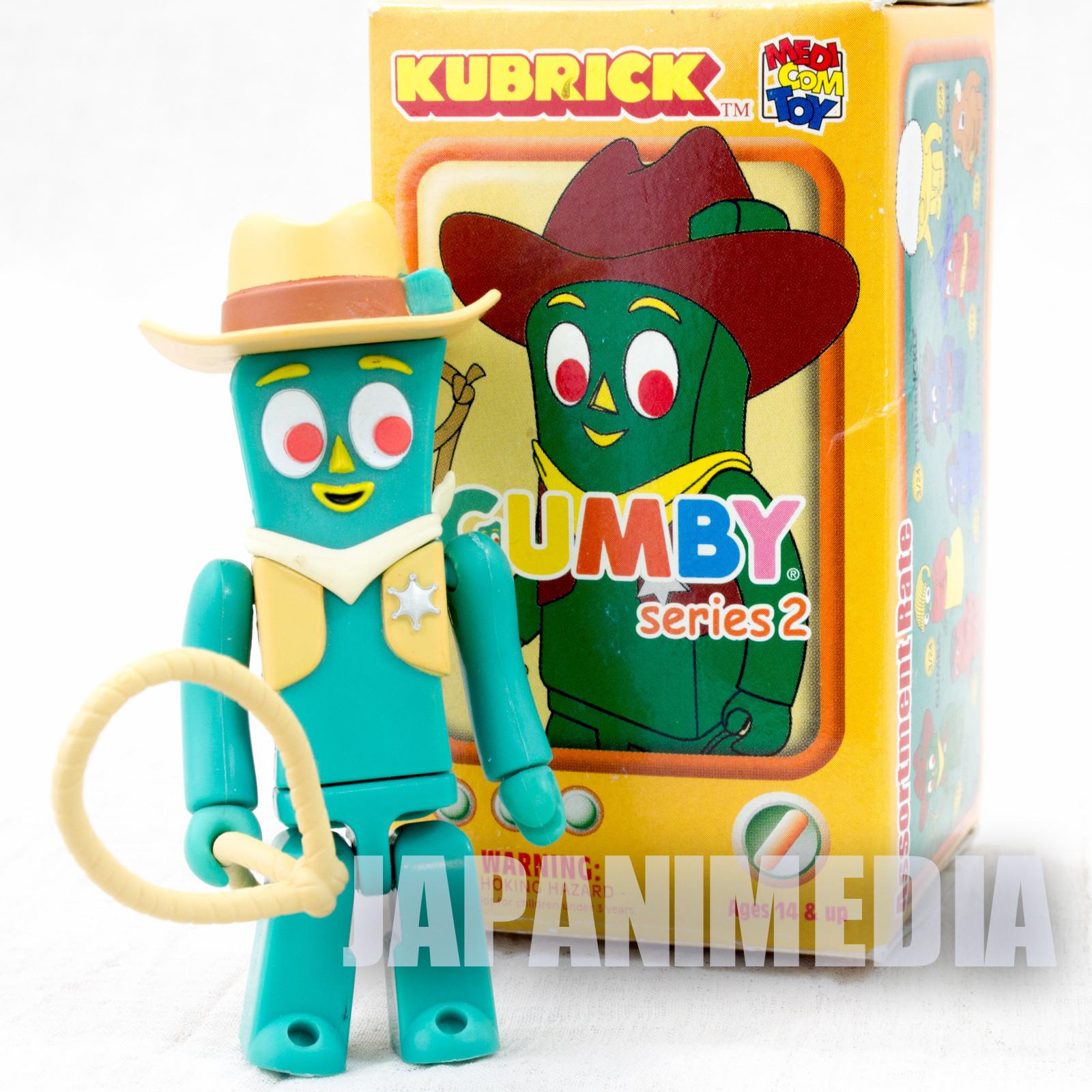 GUMBY Western Gumby Figure series 2 Kubrick Medicom Toy JAPAN