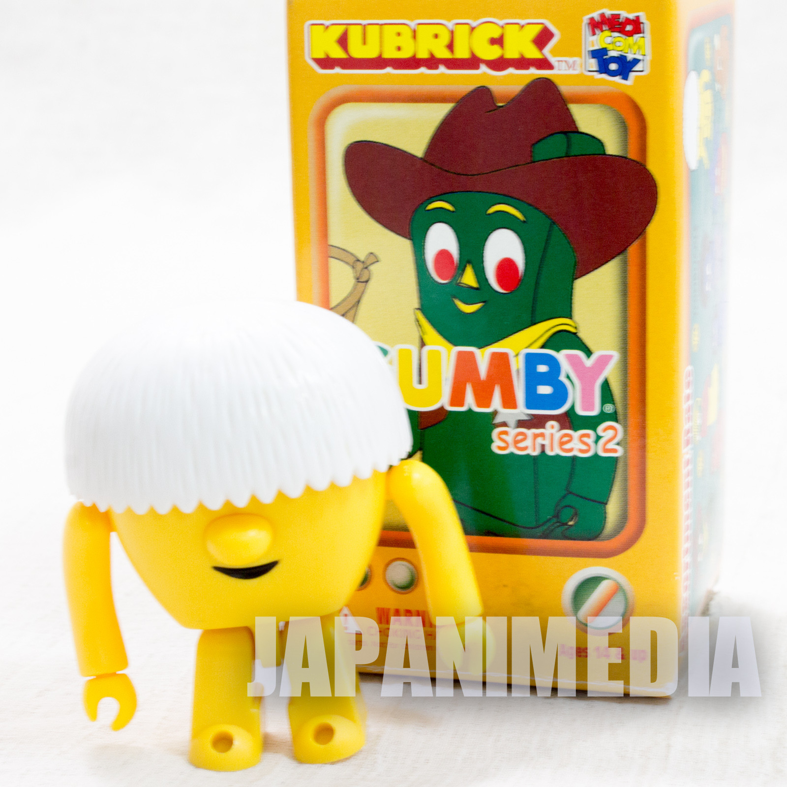 GUMBY Nobuckle Figure series 2 Kubrick Medicom Toy JAPAN