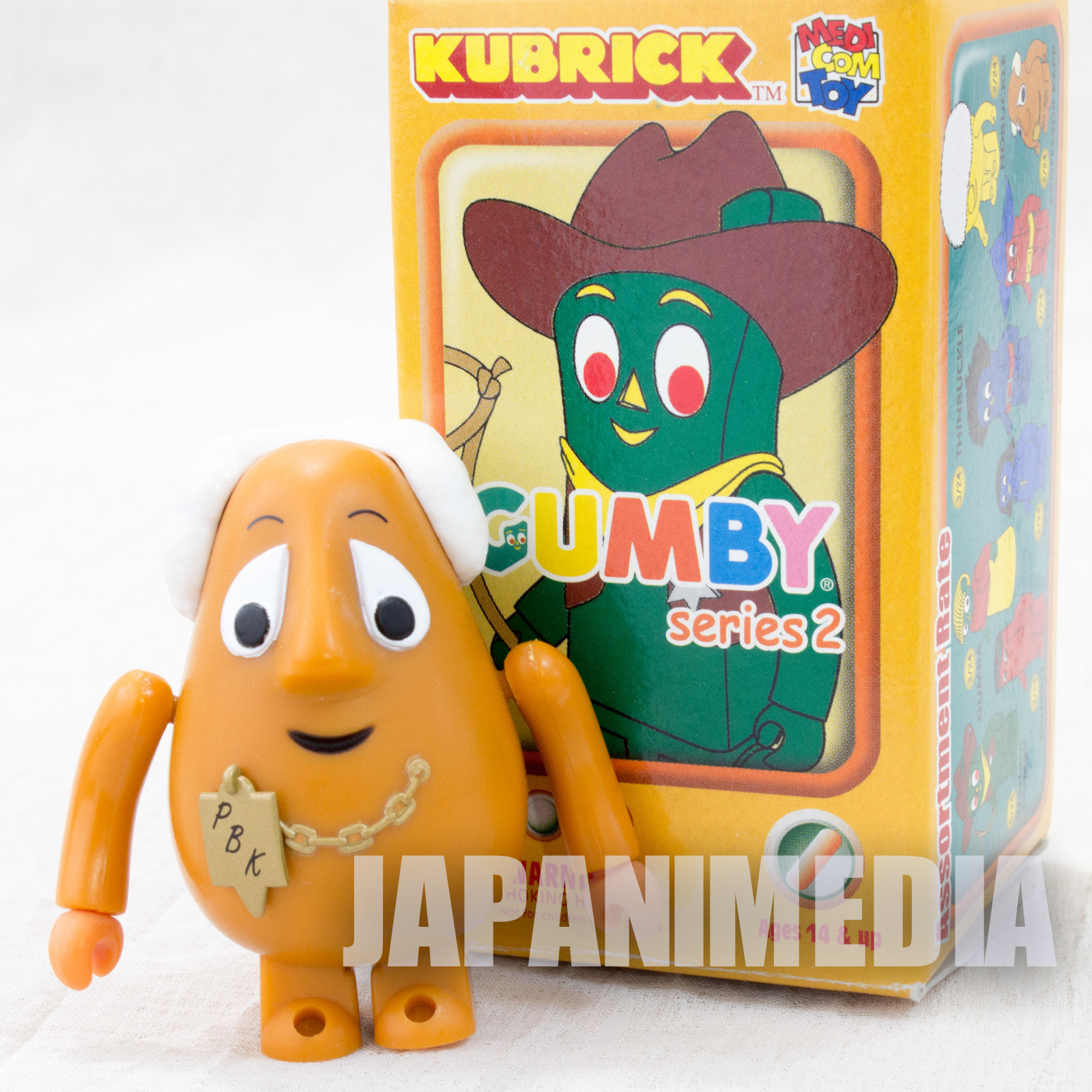 GUMBY Professor Kapp Figure series 2 Kubrick Medicom Toy JAPAN