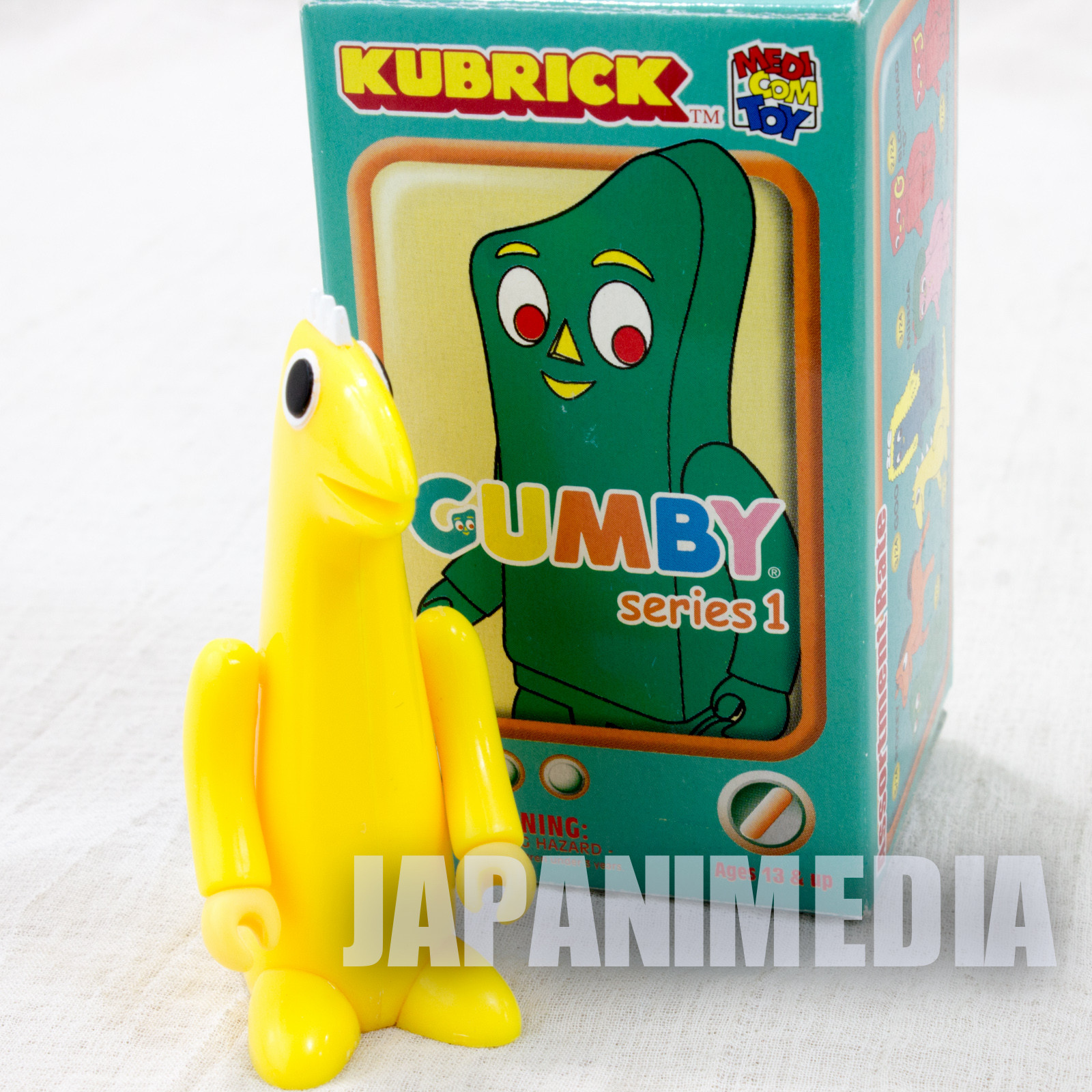 GUMBY Prickle Figure series 1 Kubrick Medicom Toy JAPAN