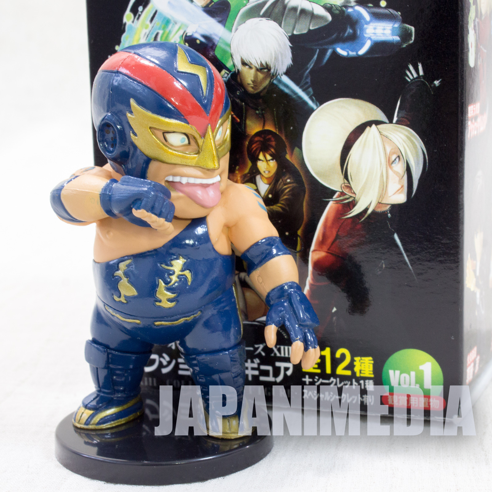 RARE! KOF King of Fighters 8 Fatal Fury Raiden Collection Figure JAPAN SNK.