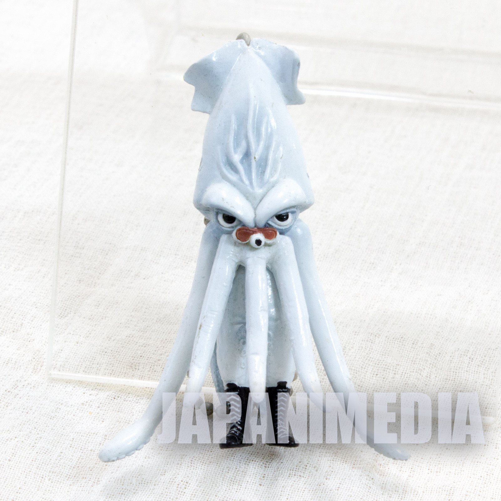 RARE Ika Calamari Wrestler Movie Figure Keychain JAPAN