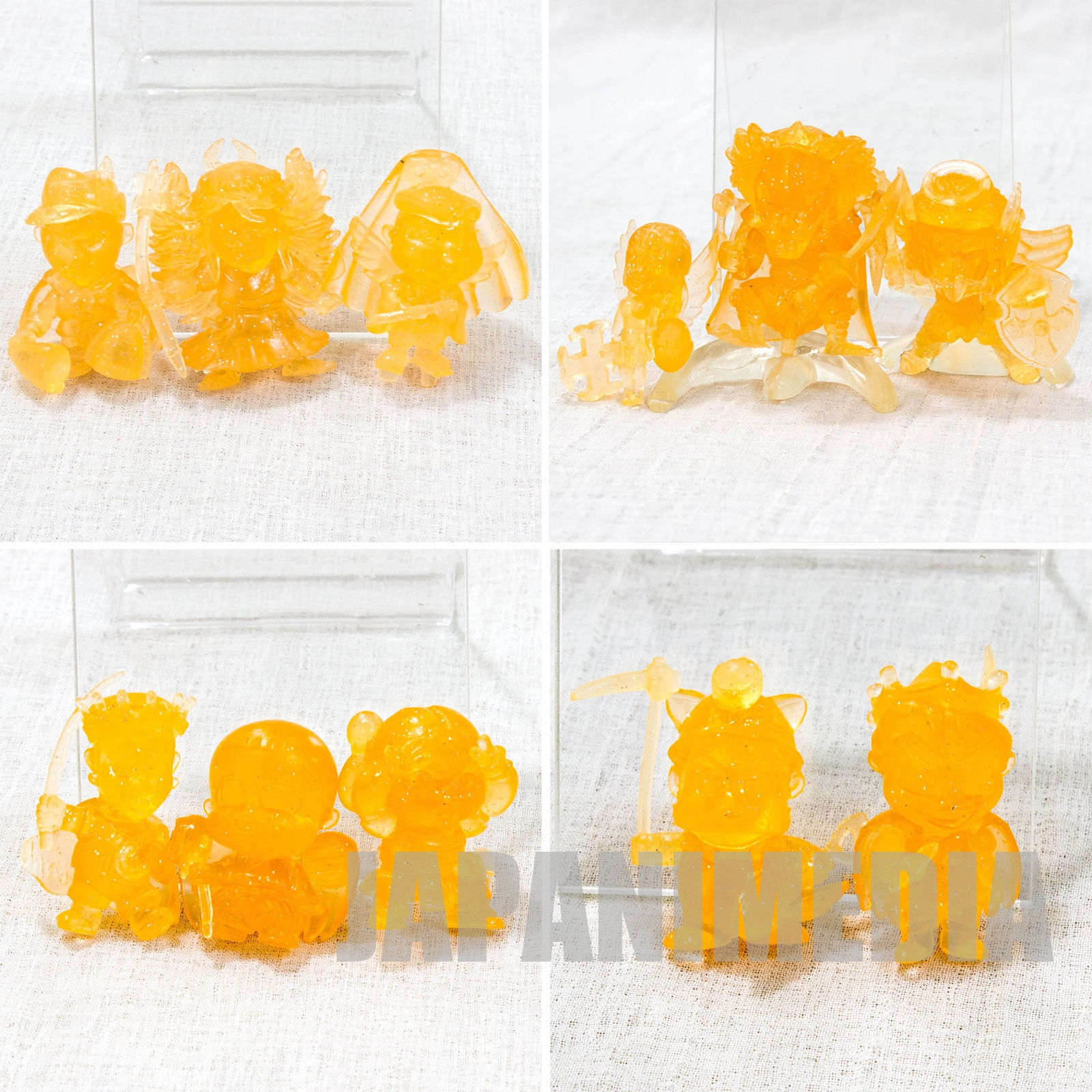Bikkuriman Bikkuri Collection Mini Figure (Clear color  ver.) 11pc set Bandai JAPAN
