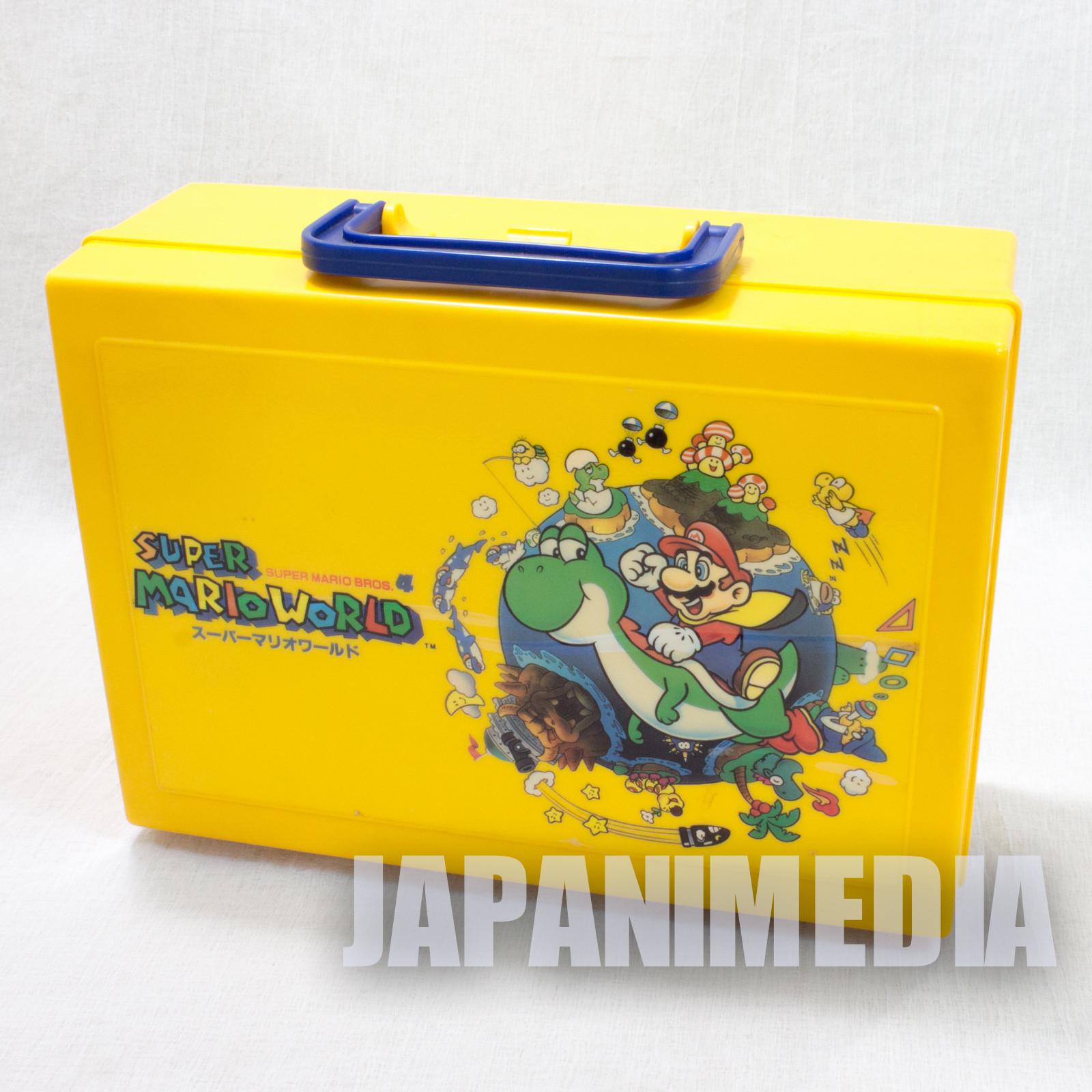 Retro RARE! Super Mario Bros. World Plastic Case JAPAN GAME NINTNEDO SNES