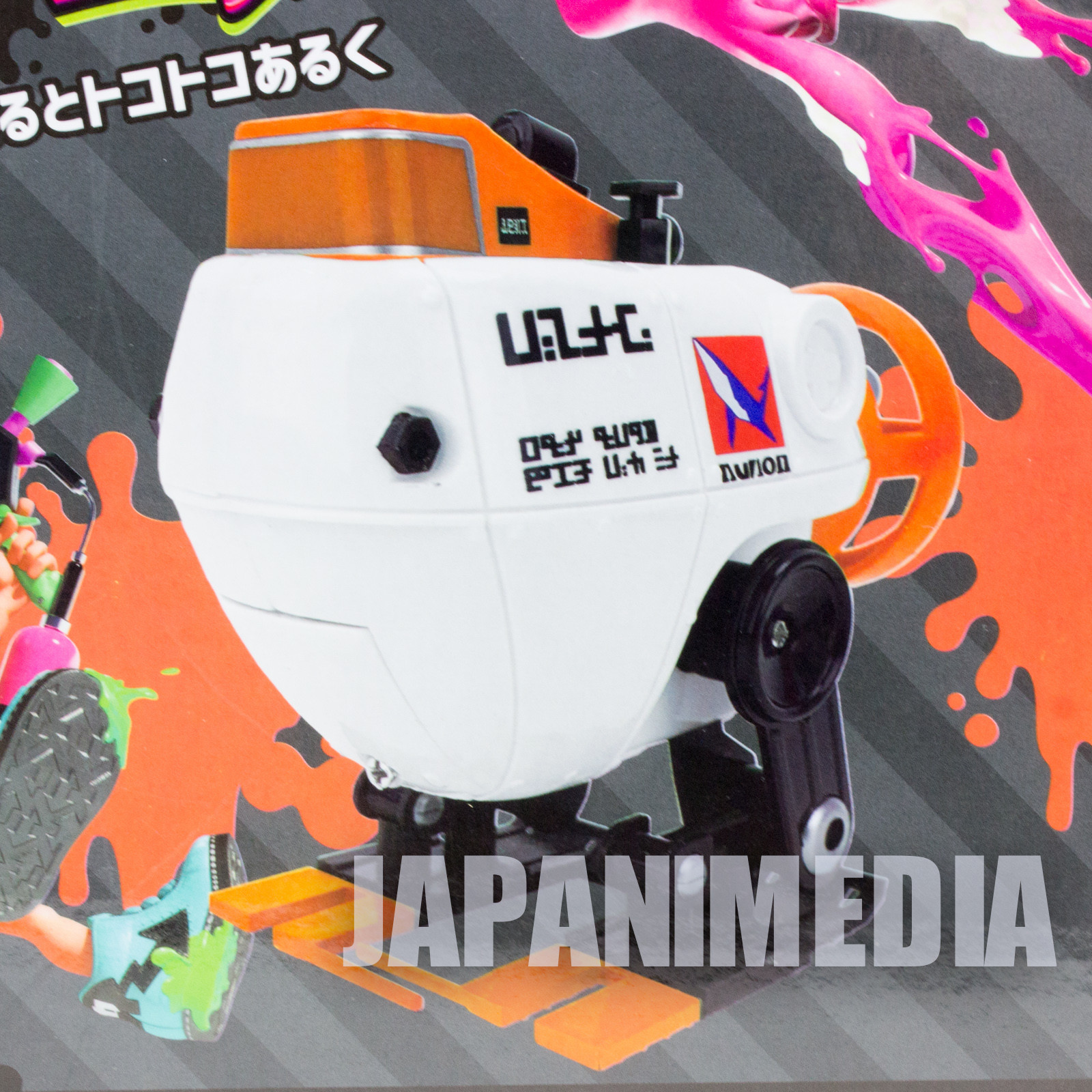 Splatoon 2 Autobomb Orange Battery-powered Movable Figure Nintendo Switch