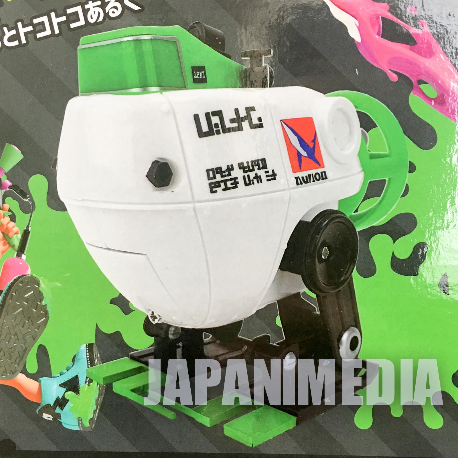 Splatoon 2 Autobomb Green Battery-powered Movable Figure Nintendo Switch