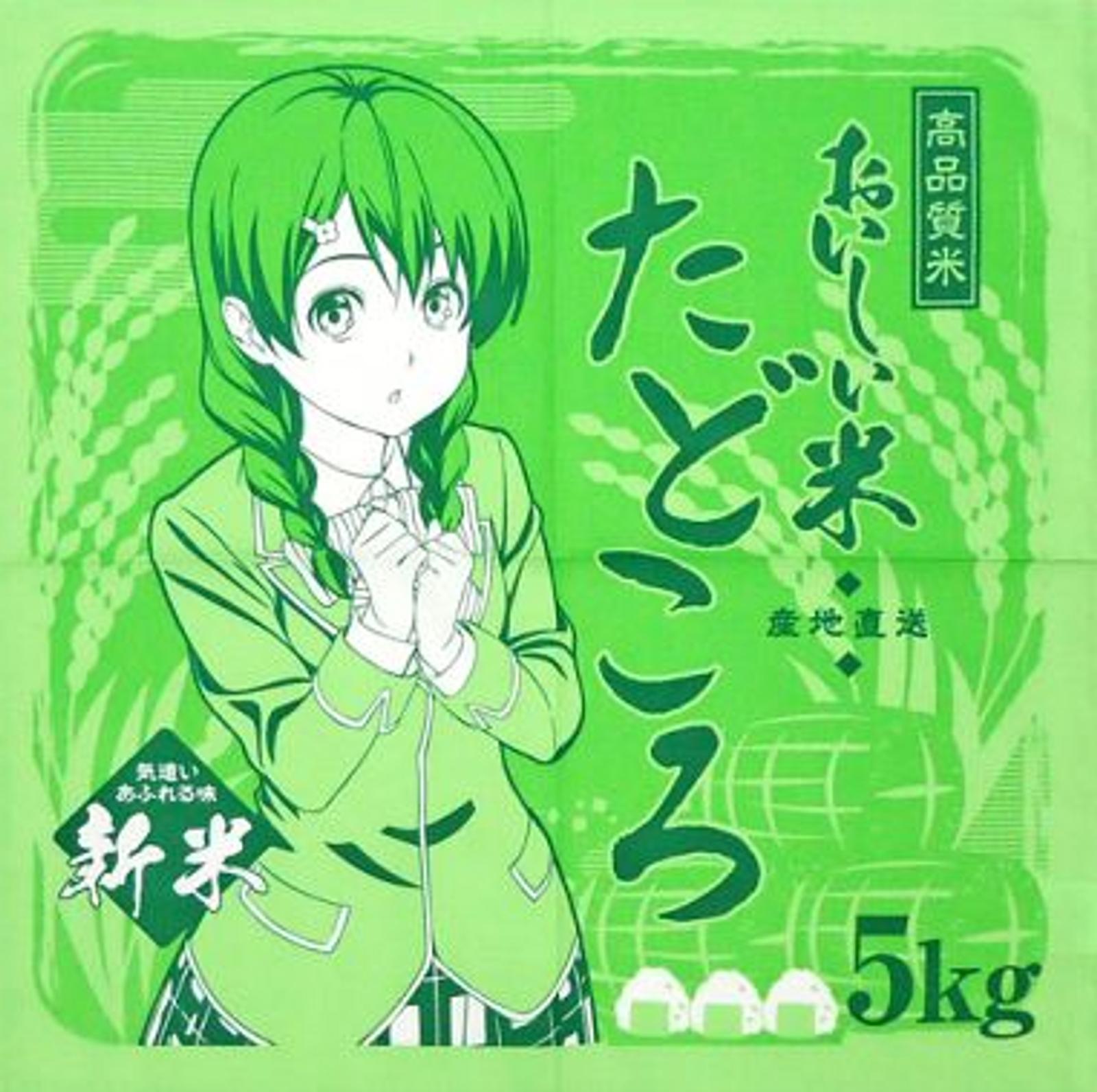 Food Wars!: Shokugeki no Soma Megumi Tadokoro Napkin 45x45cm JAPAN ANIME SHONEN JUMP