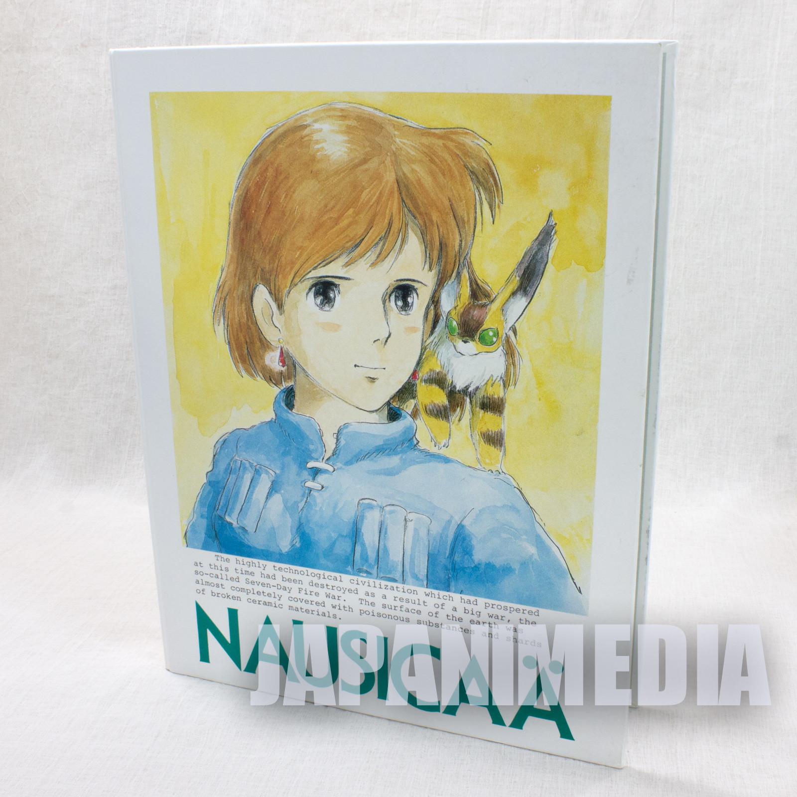 Retro RARE Nausicaa of the Valley Binder for B5 Loose-leaf Tokuma Shoten Ghibli