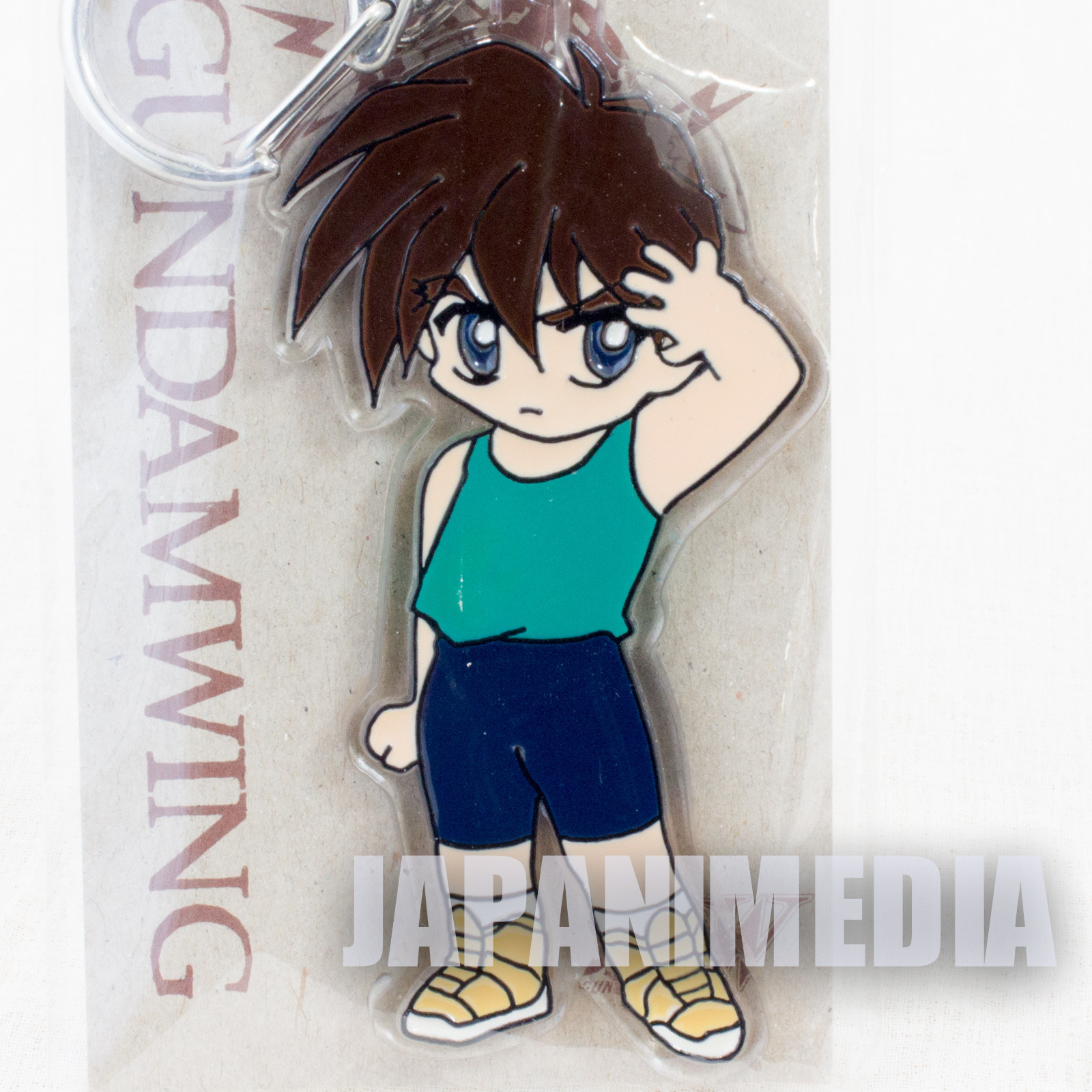 Gundam Wing Heero Yuy  Acrylic Keychain JAPAN ANIME