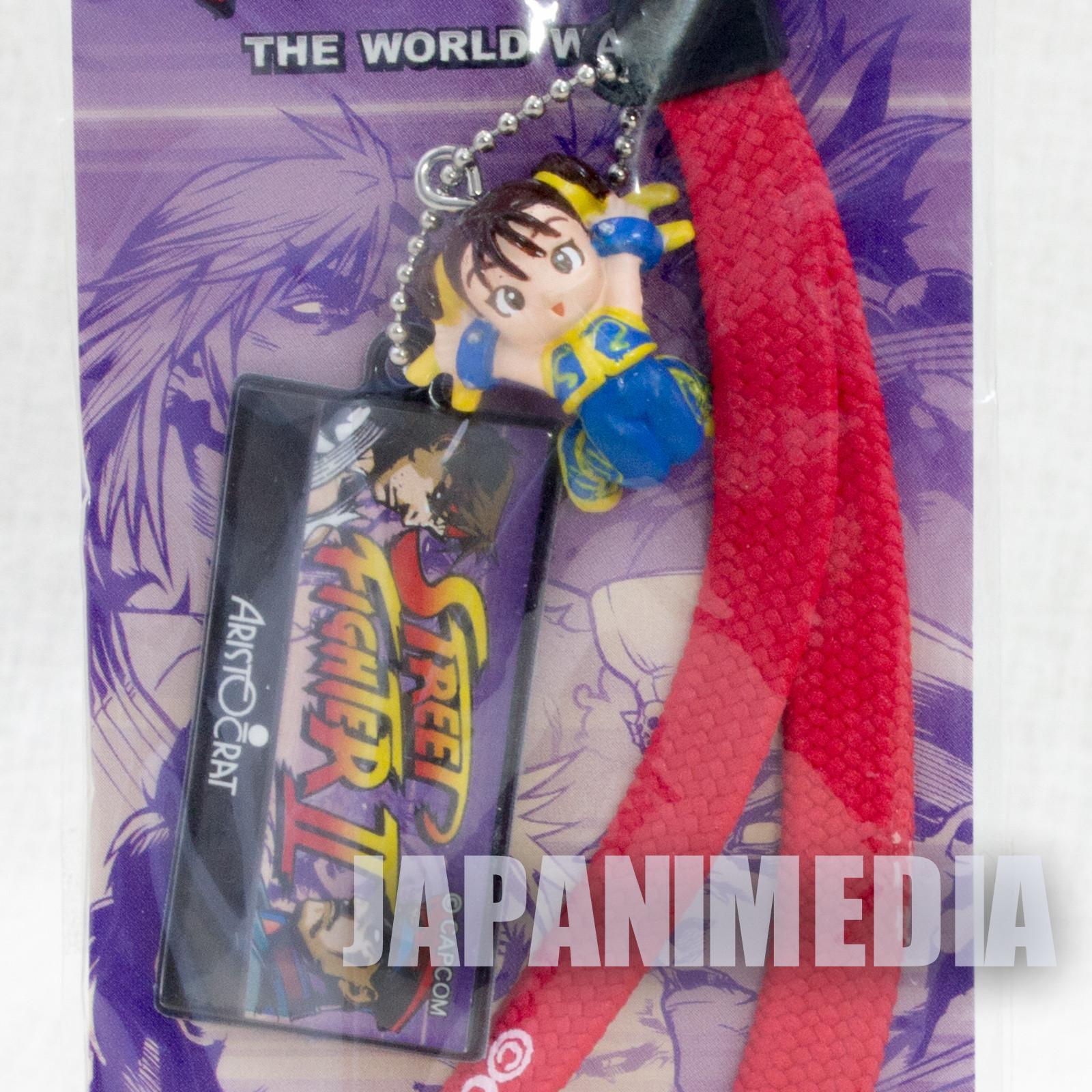 Street Fighter 2 Chun-Li Character Strap Figure Capcom JAPAN GAME