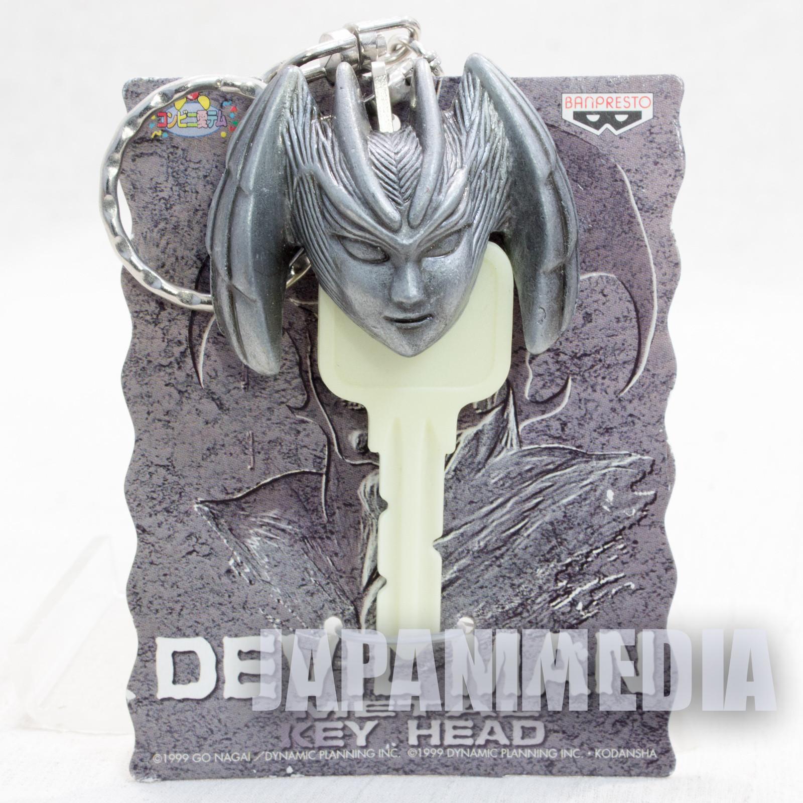 Devilman Sirene ver. Metal Key Head Cover Keychain Banpresto JAPAN ANIME
