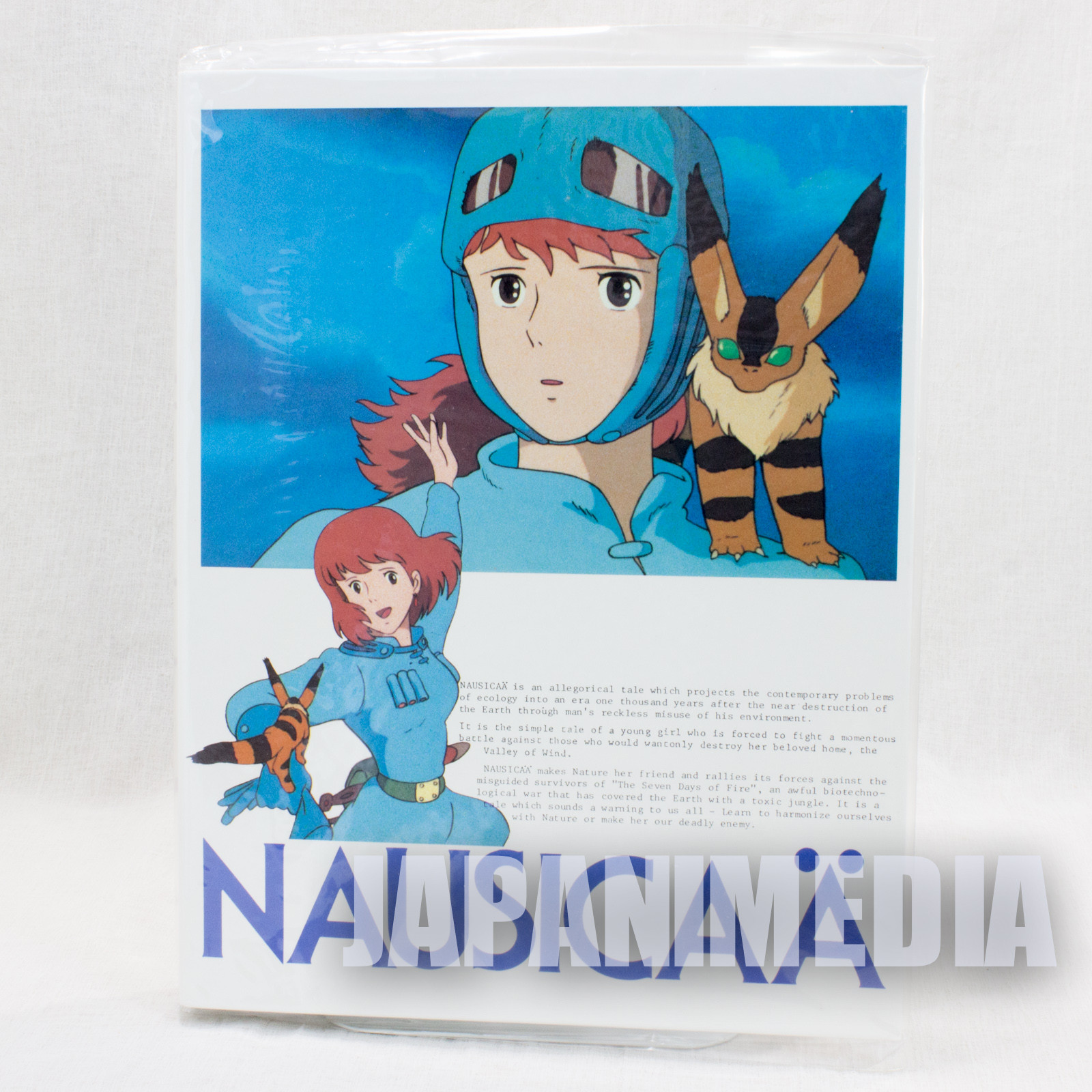 Retro RARE Nausicaa of the Valley Binder for B5 Loose-leaf Tokuma Shoten Ghibli2