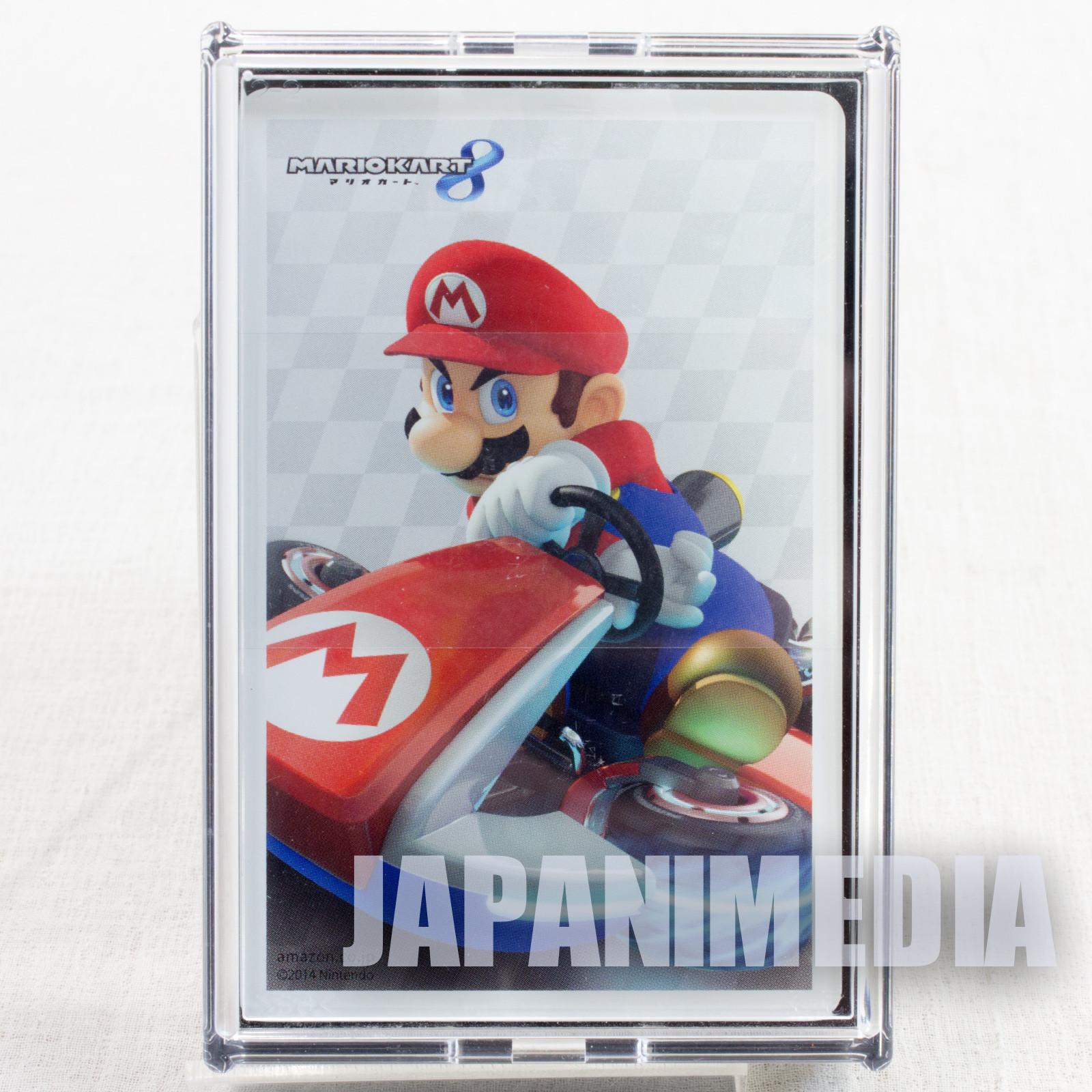 Super Mario Kart 8 Mario Wii-U Trump Clear Playing Cards Nintendo