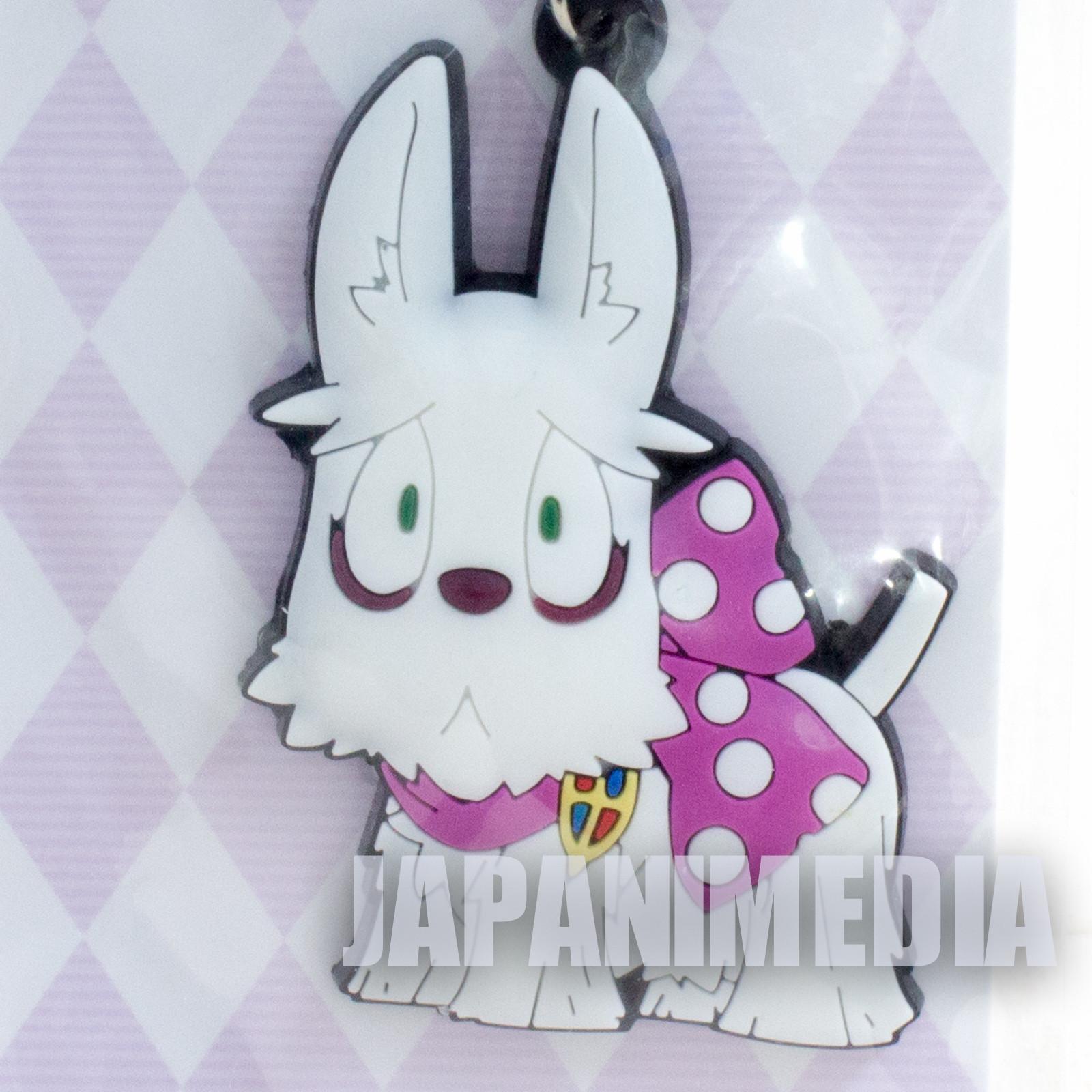 Blue Exorcist Mephisto Dog Rubber Mascot Keychain JAPAN ANIME