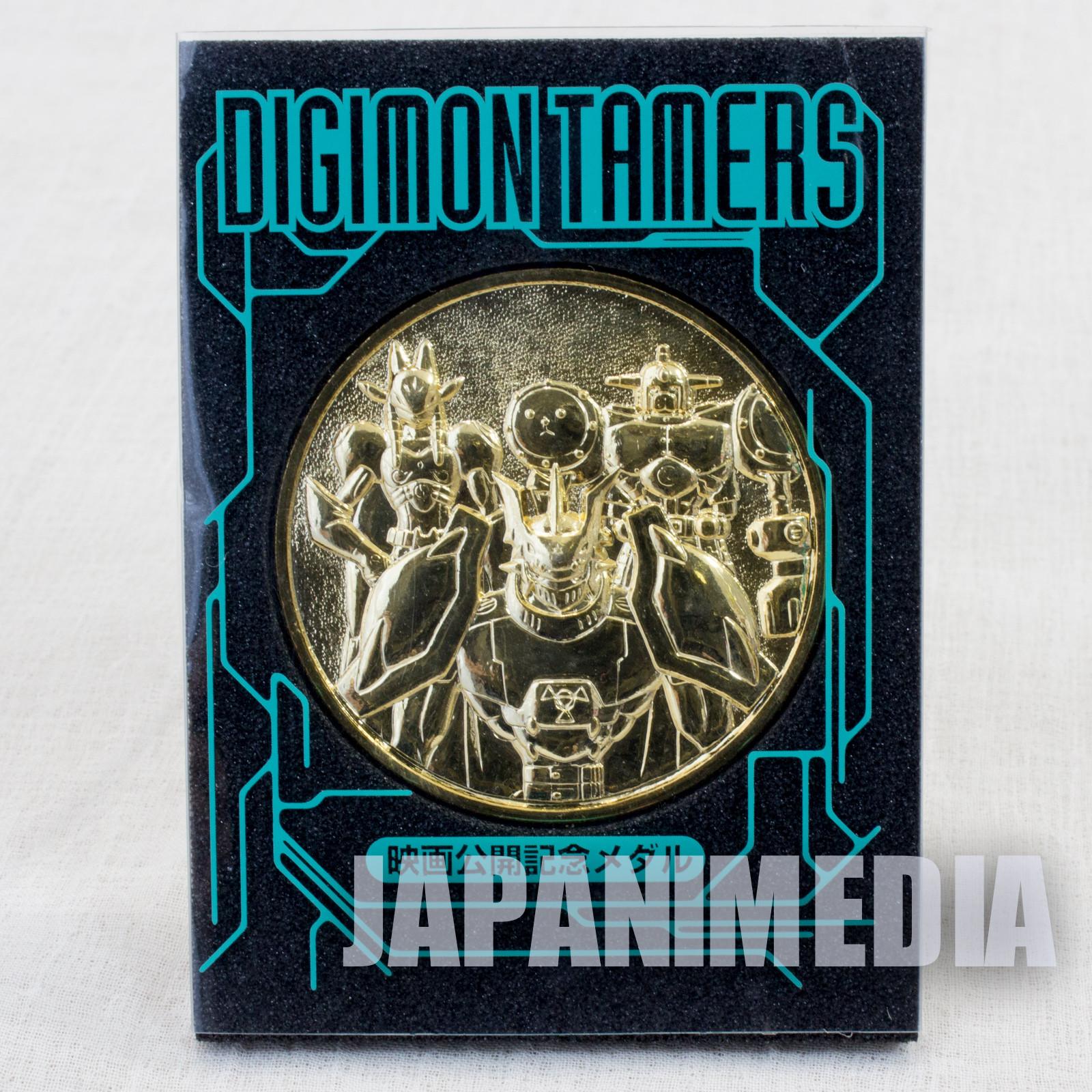 Digimon Tamers Runaway Locomon Golden Medal Toei JAPAN ANIME
