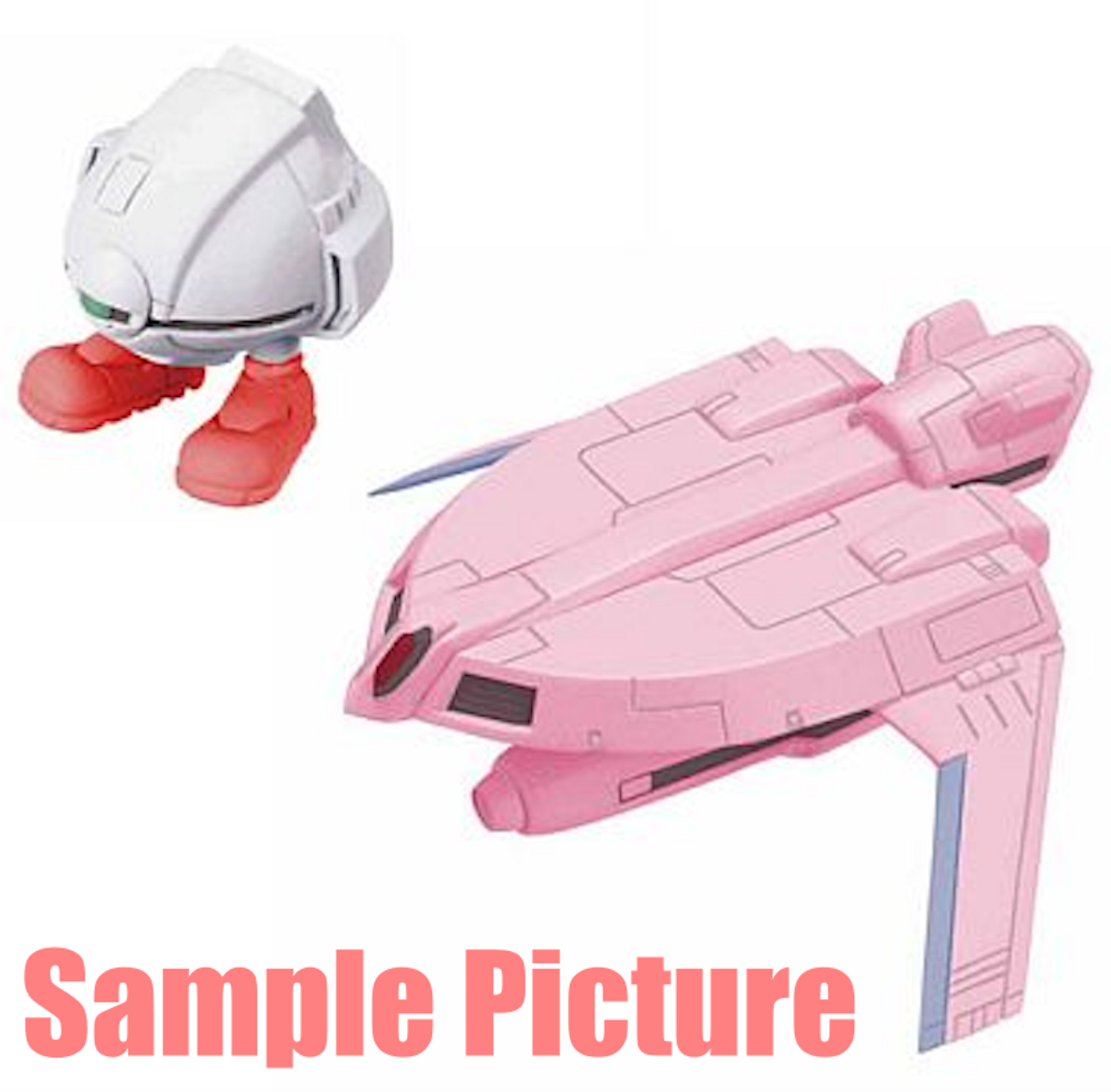 Dirty Pair Lovely Angel Spaceship Nanco Figure Megahouse Gran Mechanix