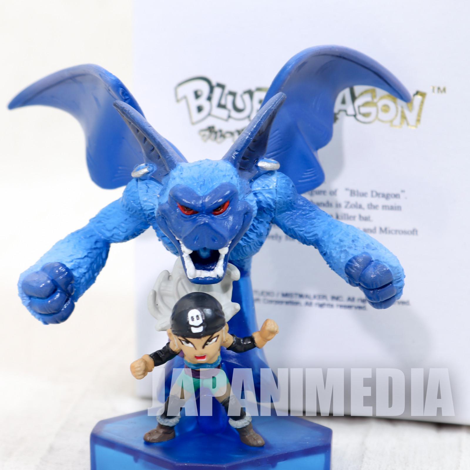 Blue Dragon Zola & Shadow Killer Bat Mini Figure Akira Toriyama JAPAN ANIME