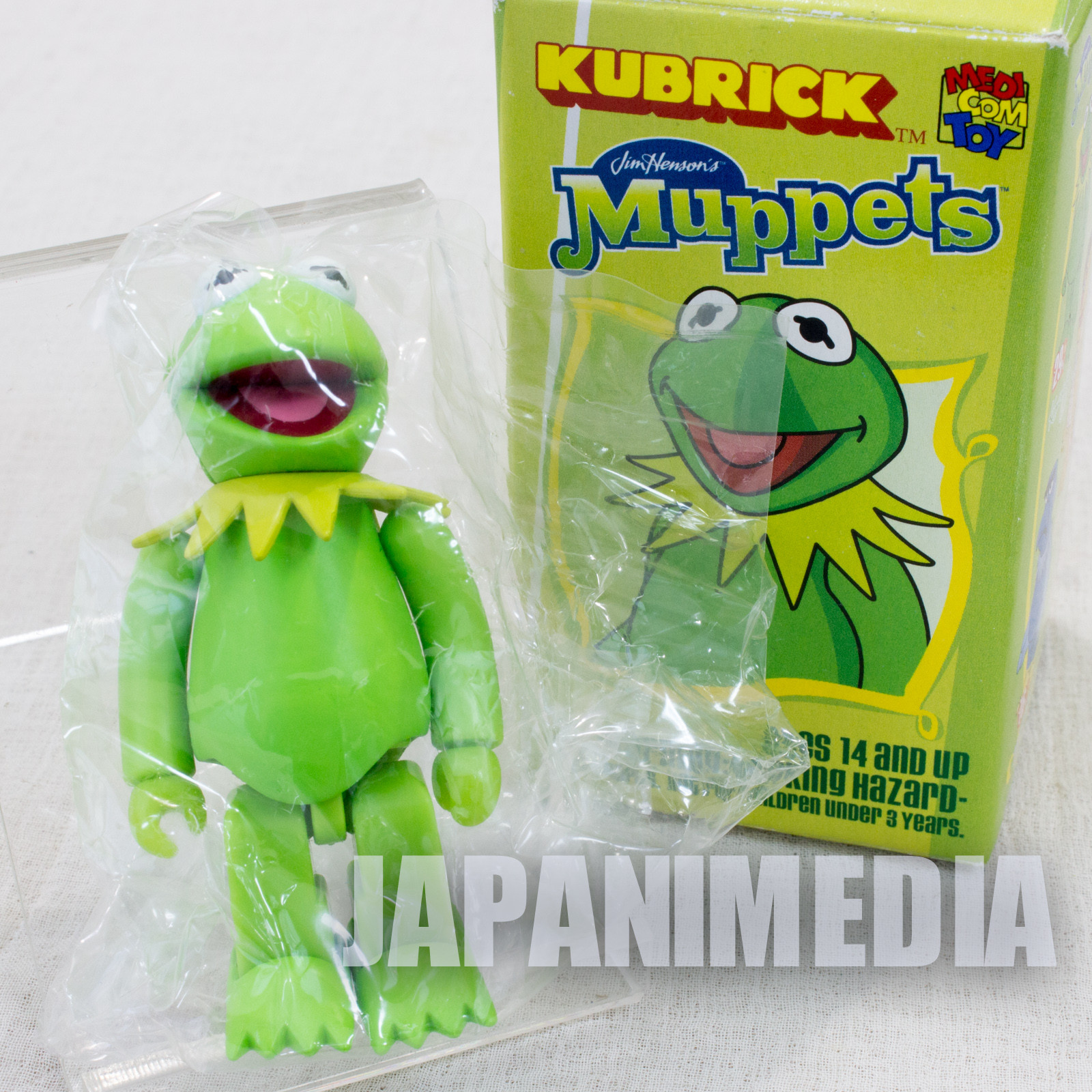 MUPPETS Kermit the Frog Kubrick Medicom Toy JAPAN FIGURE SESAME STREET