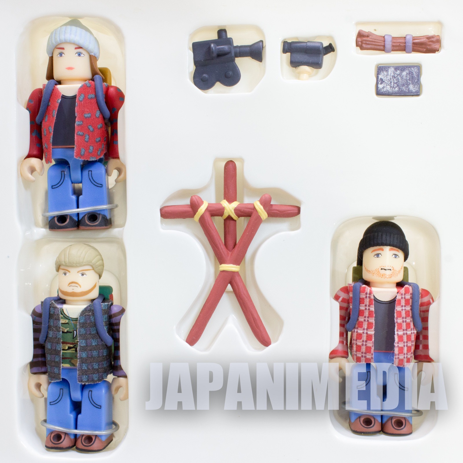 The Blair Witch Project Kubrick figure set Medicom Toy JAPAN