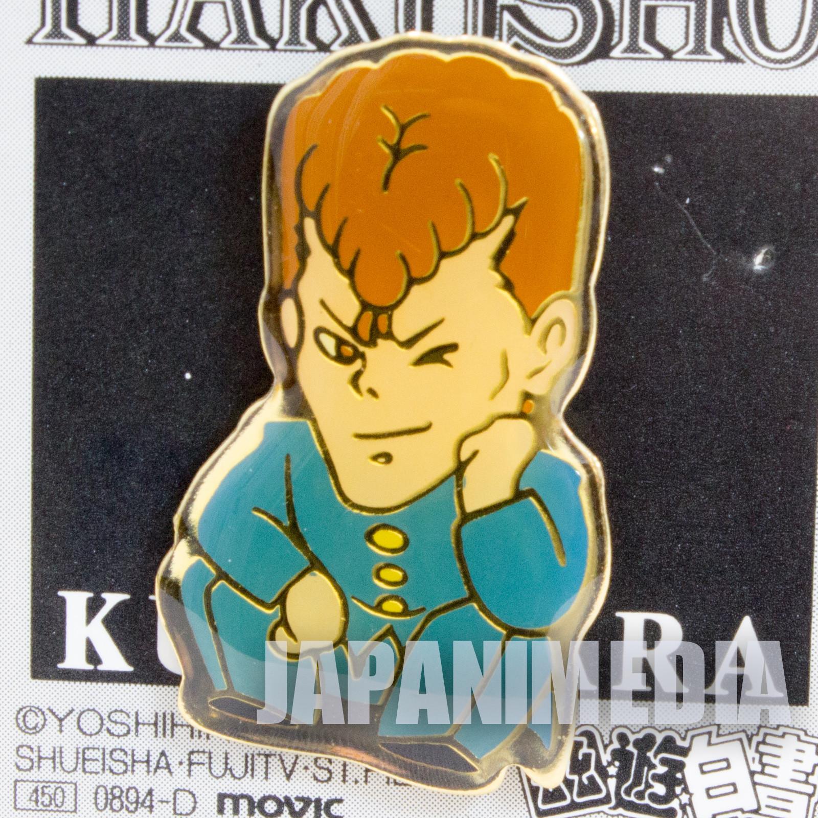 RARE Yu Yu Hakusho Kazuma Kuwabara Pins Movic JAPAN ANIME MANGA