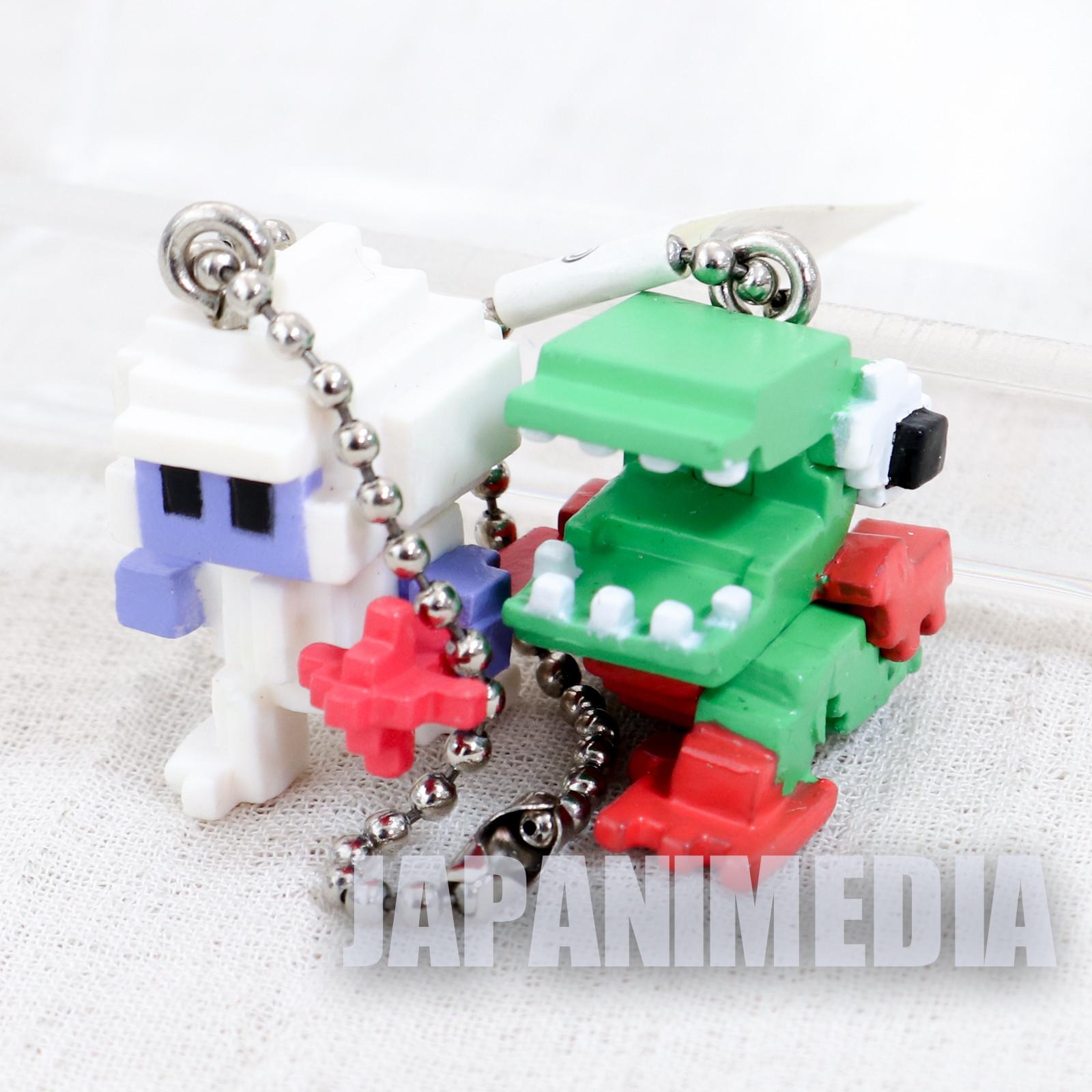 BOXLEBEL Famicom Character Figure Key Chain Dig Dug Namco JAPAN NES