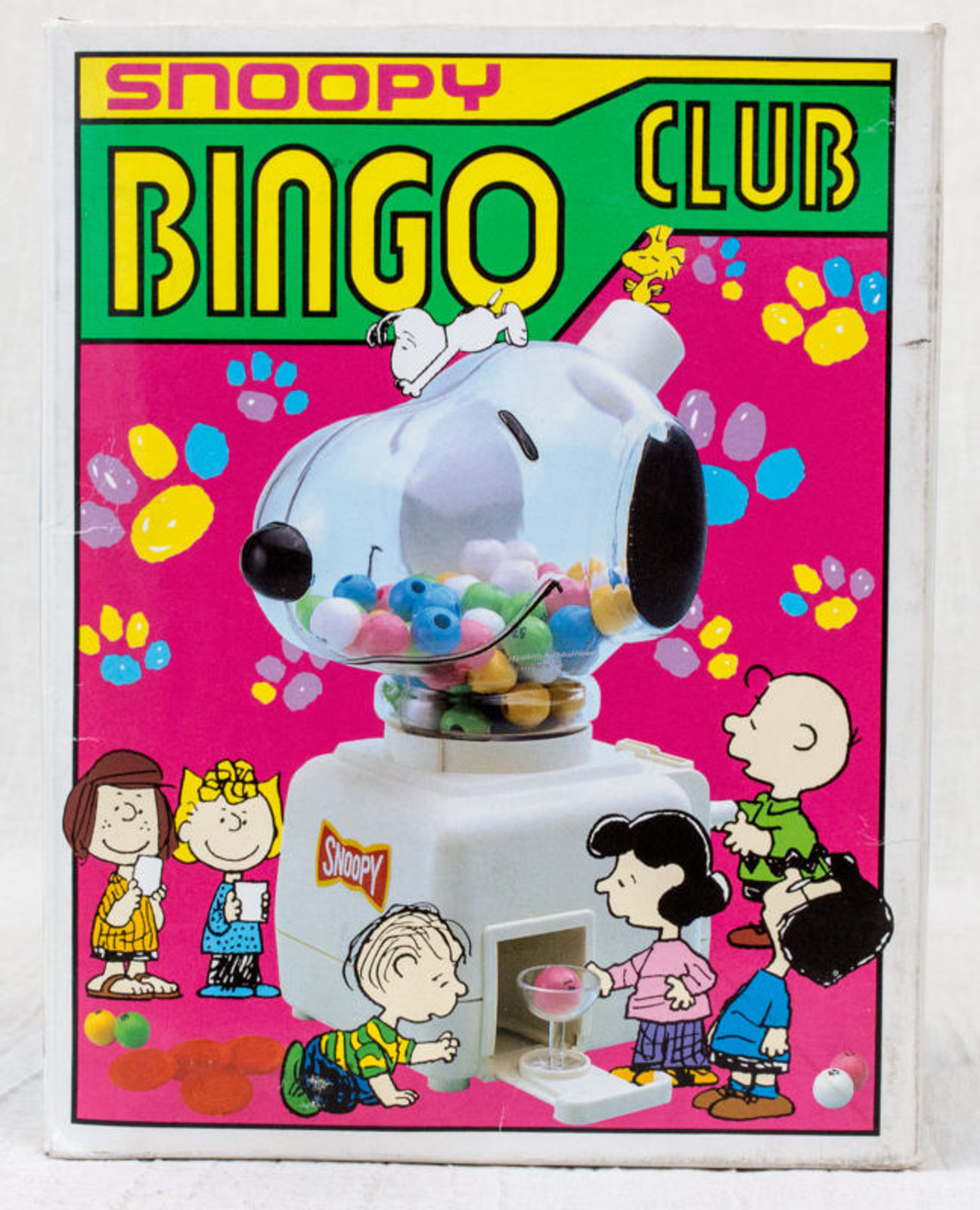 Snoopy Bingo Club Mini Game Toy Peanuts Hanayanama JAPAN ANIME