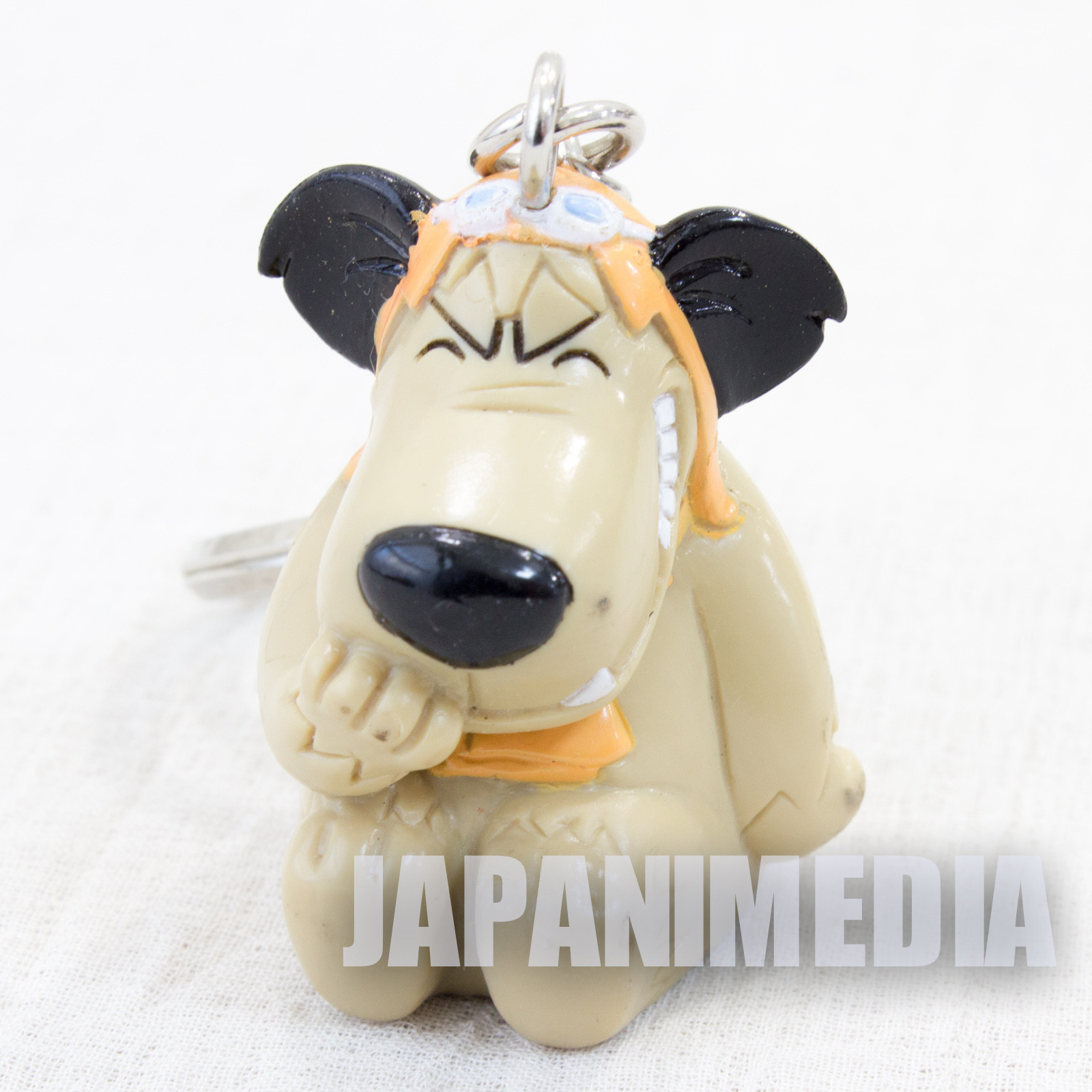 Wacky Races Muttley #1 Figure Keychain 1996 Banpresto JAPAN Hanna-Barbera