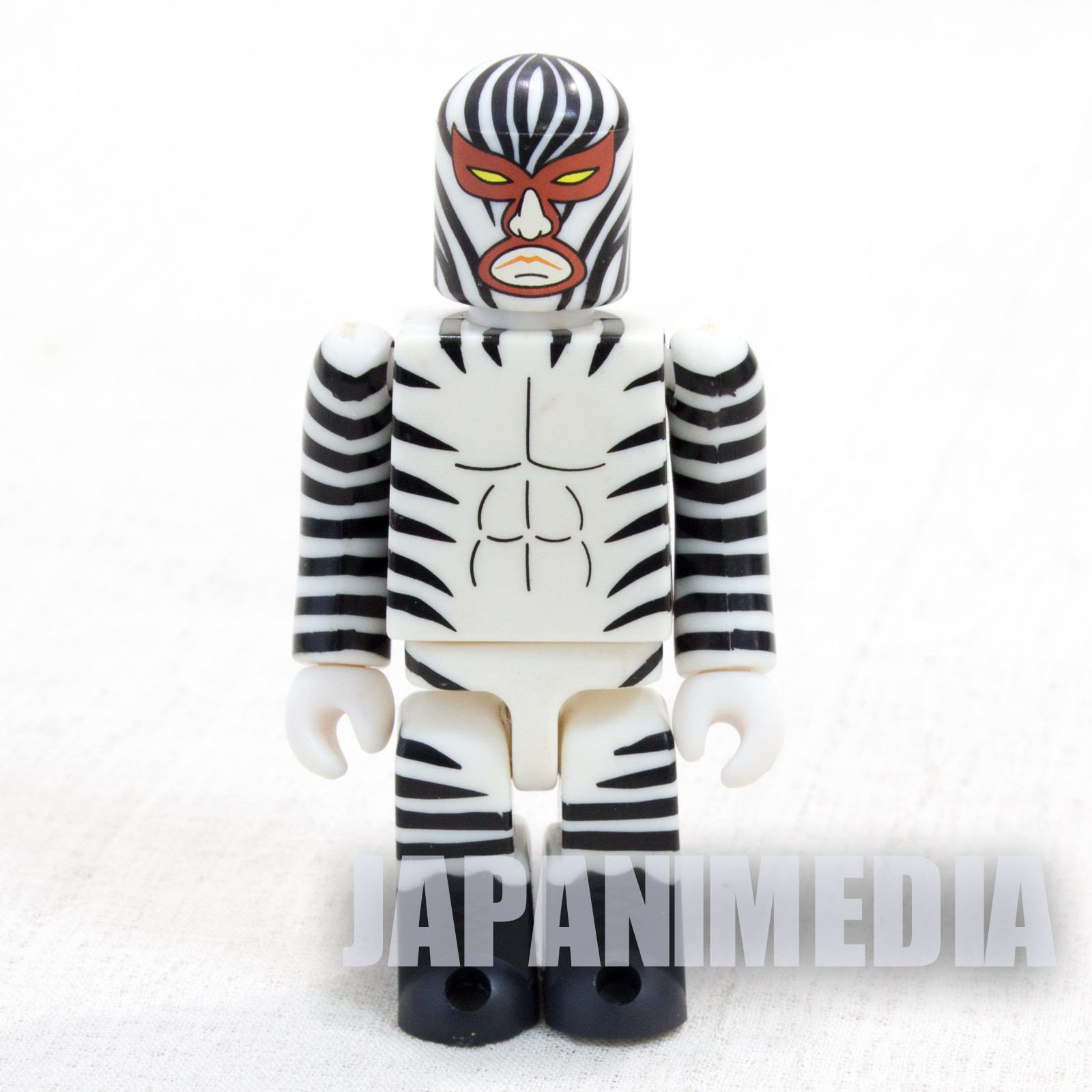 Tiger Mask Series 2 Great Zebrra Figure Kubrick Medicom Toy JAPAN