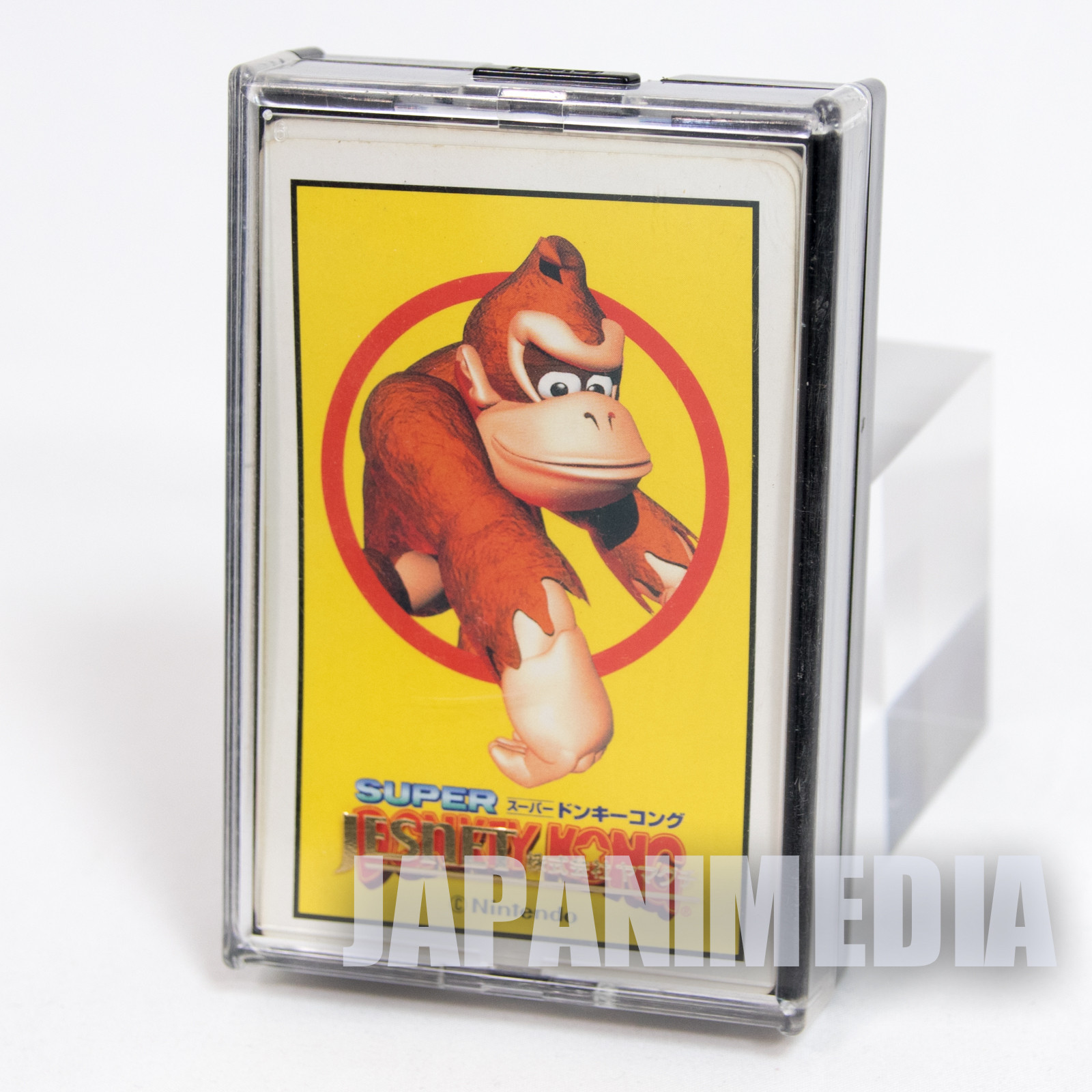 Super Donkey Kong Trump Clear Playing Cards Nintendo JAPAN FAMICOM