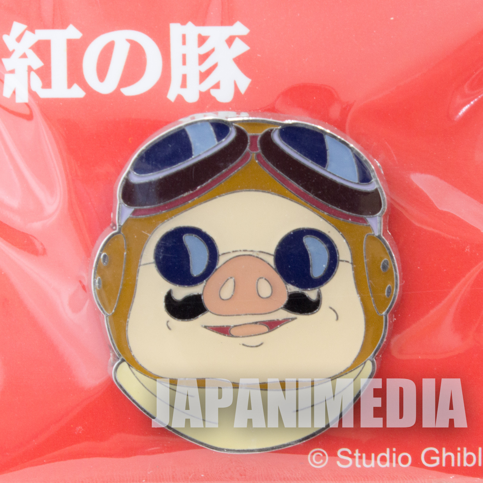 Porco Rosso Marco Pagot Pins Ghibli JAPAN ANIME