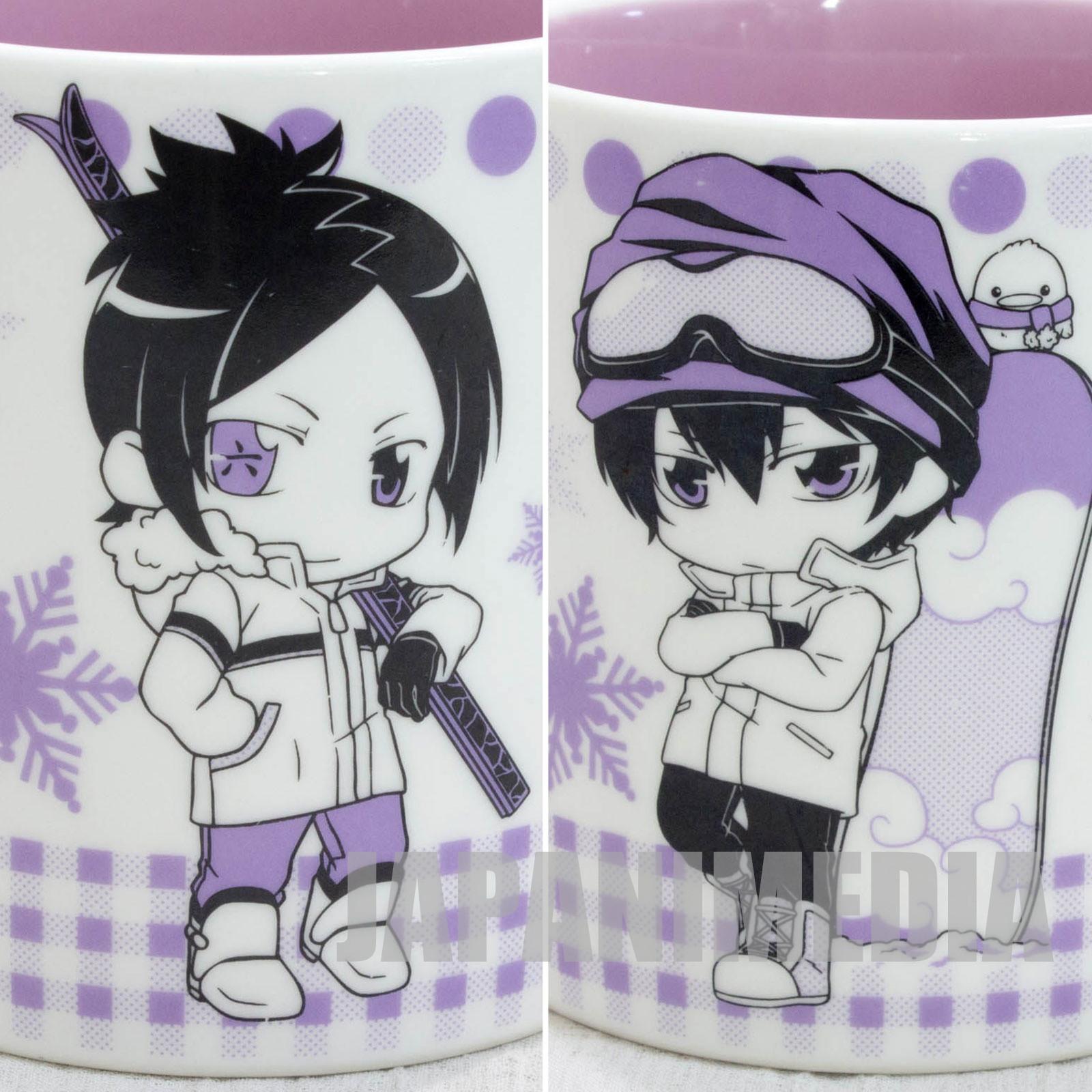 Katekyo Hitman REBORN! Kyoya Hibari & Mukuro Rokudo Mug Winter ver. JAPAN ANIME MANGA SHONEN JUMP