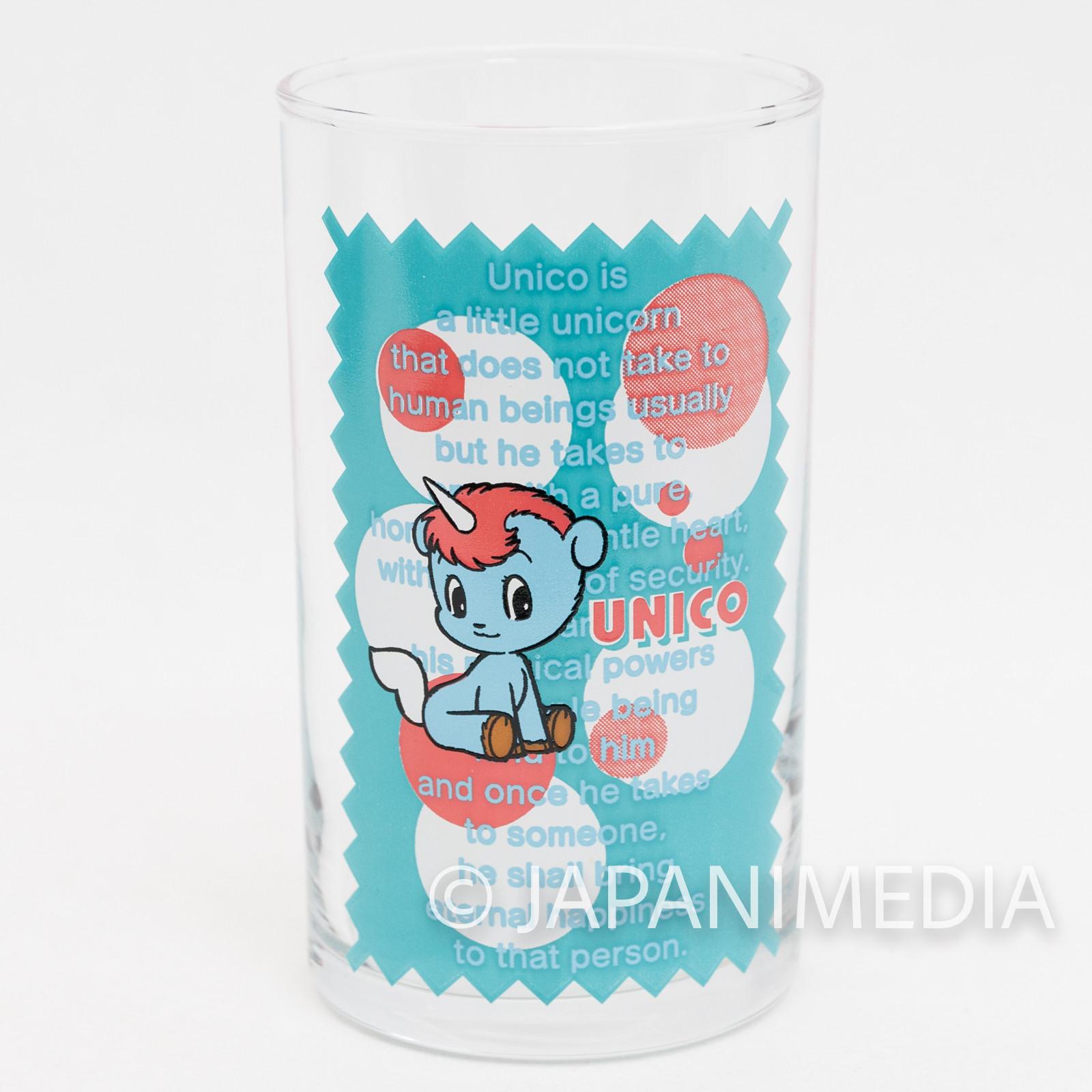 Unico Tezuka Osamu Character Glass JAPAN ANIME MANGA