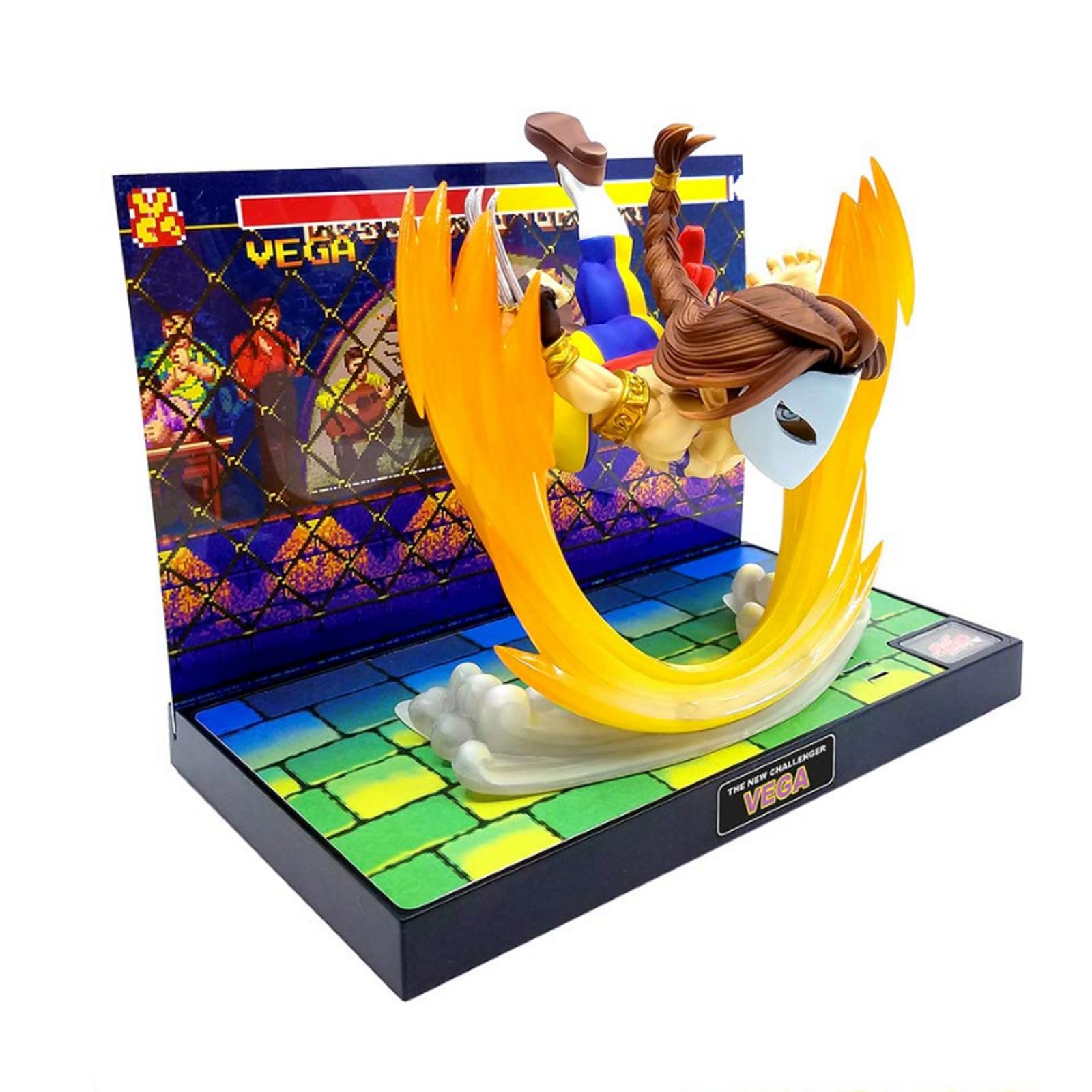 Street Fighter 2 Vega Diorama Figure T.N.C-09 Capcom Character JAPAN Balrog