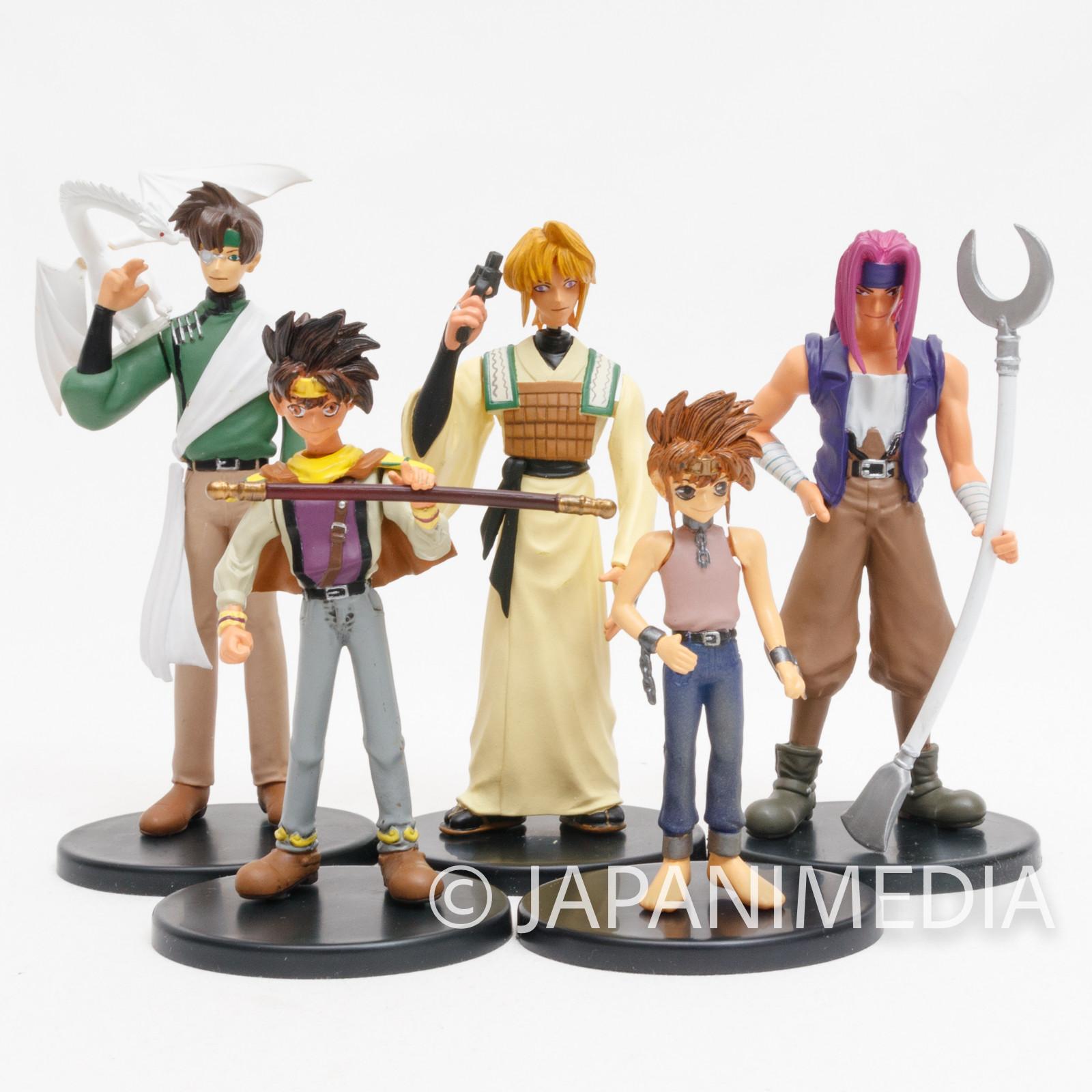 Gensomaden SAIYUKI Trading Figure 5pc Set [Sanzo / Goku / Gojyo / Hakkai / Goku (secret ver.) ] JAPAN