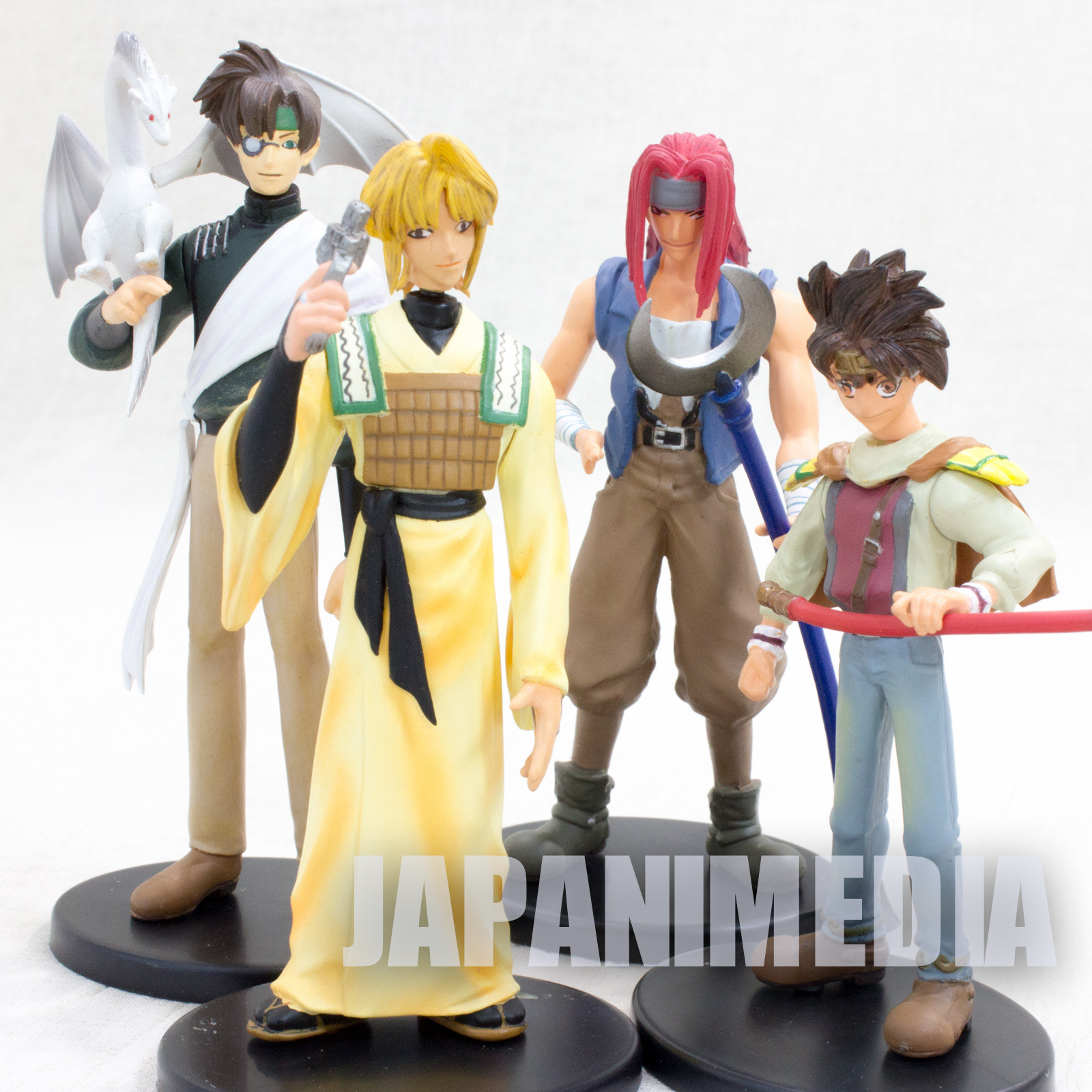 Gensomaden SAIYUKI Trading Figure 4pc Repaint ver. Set [Sanzo / Goku / Gojyo / Hakkai] JAPAN