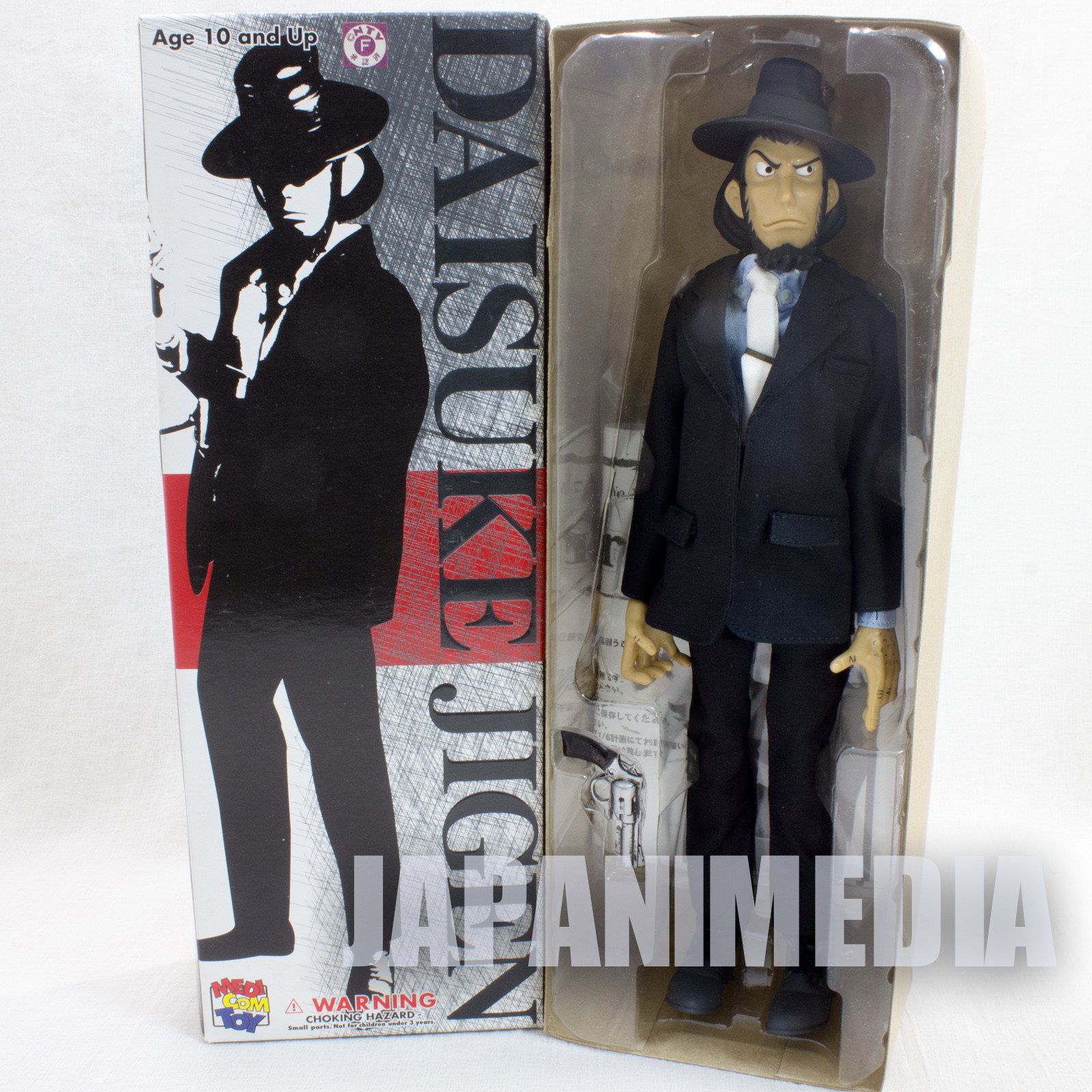 Lupin the 3rd Jigen Daisuke Stylish Collection Medicom Toy JAPAN ANIME MANGA