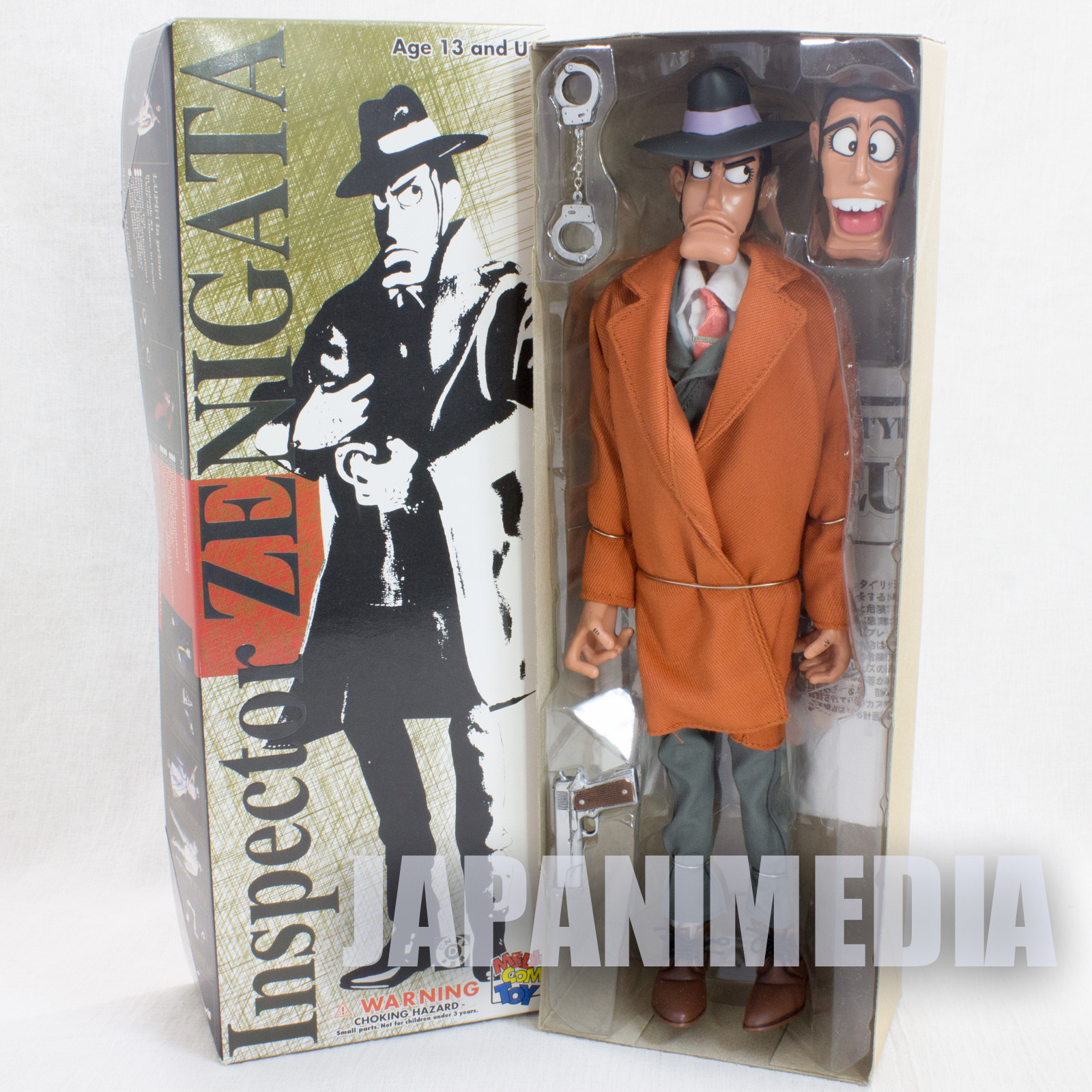 Lupin the 3rd Zenigata Stylish Collection Medicom Toy JAPAN ANIME MANGA