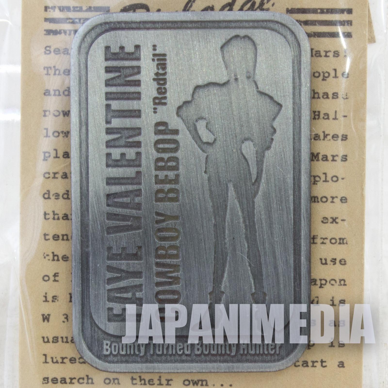 RARE! Cowboy Bebop Faye Valentine Pins JAPAN ANIME