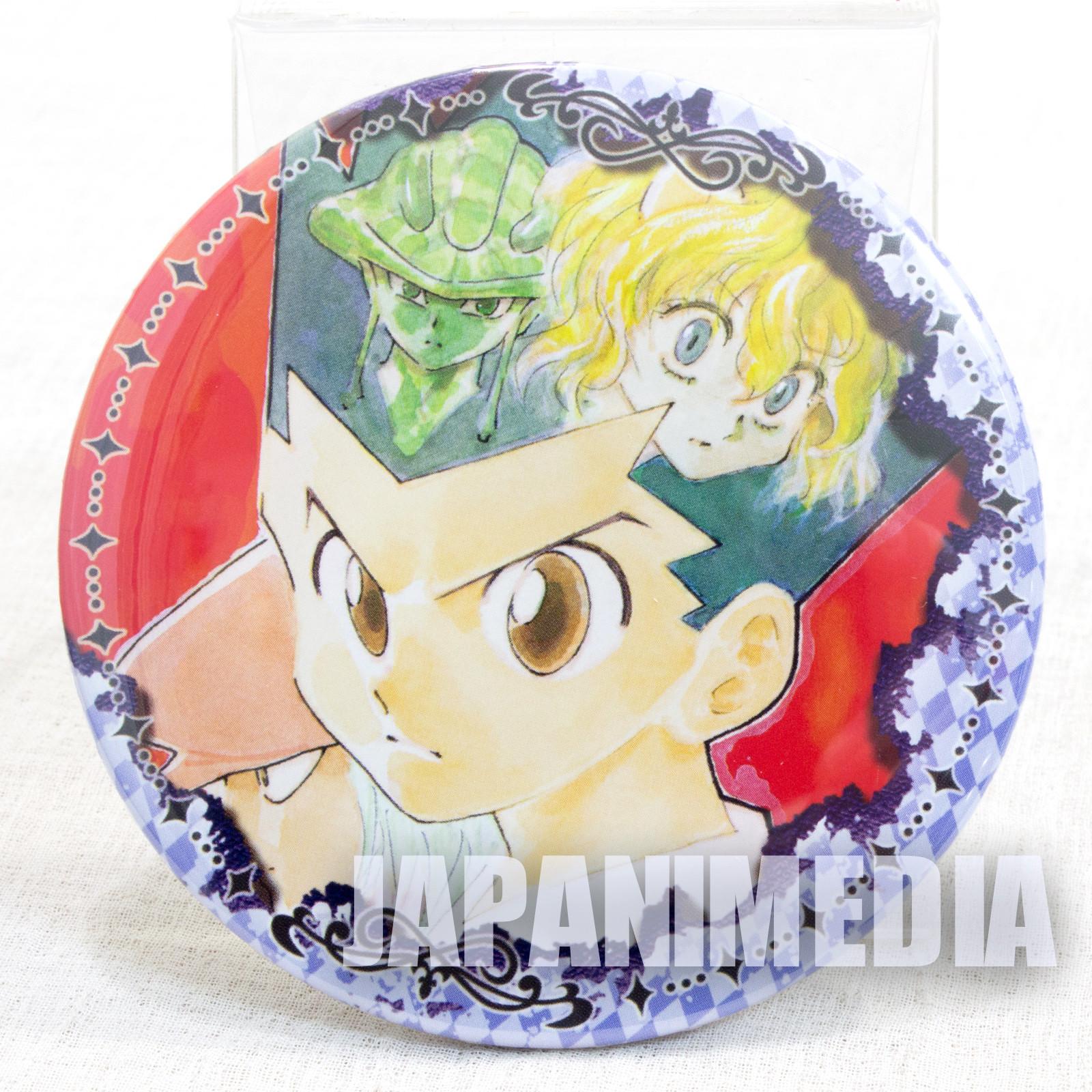 HUNTER x HUNTER Gon Freecss & Meruem & Neferpitou Collection Button Badge JAPAN ANIME