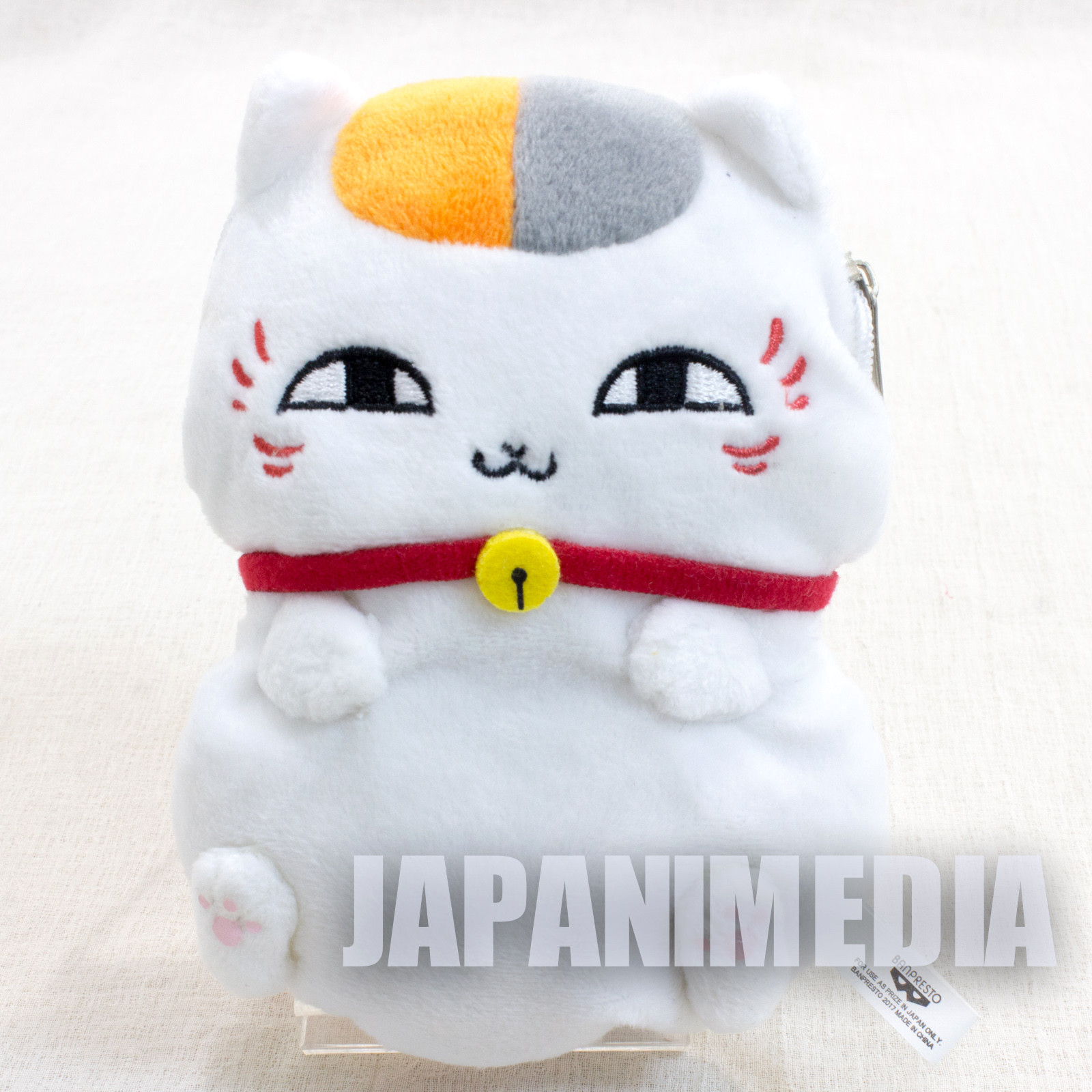 Natsume's Book of Friends Nyanko-sensei Plush doll Mini Pouch (Normal ver.) Banpresto JAPAN