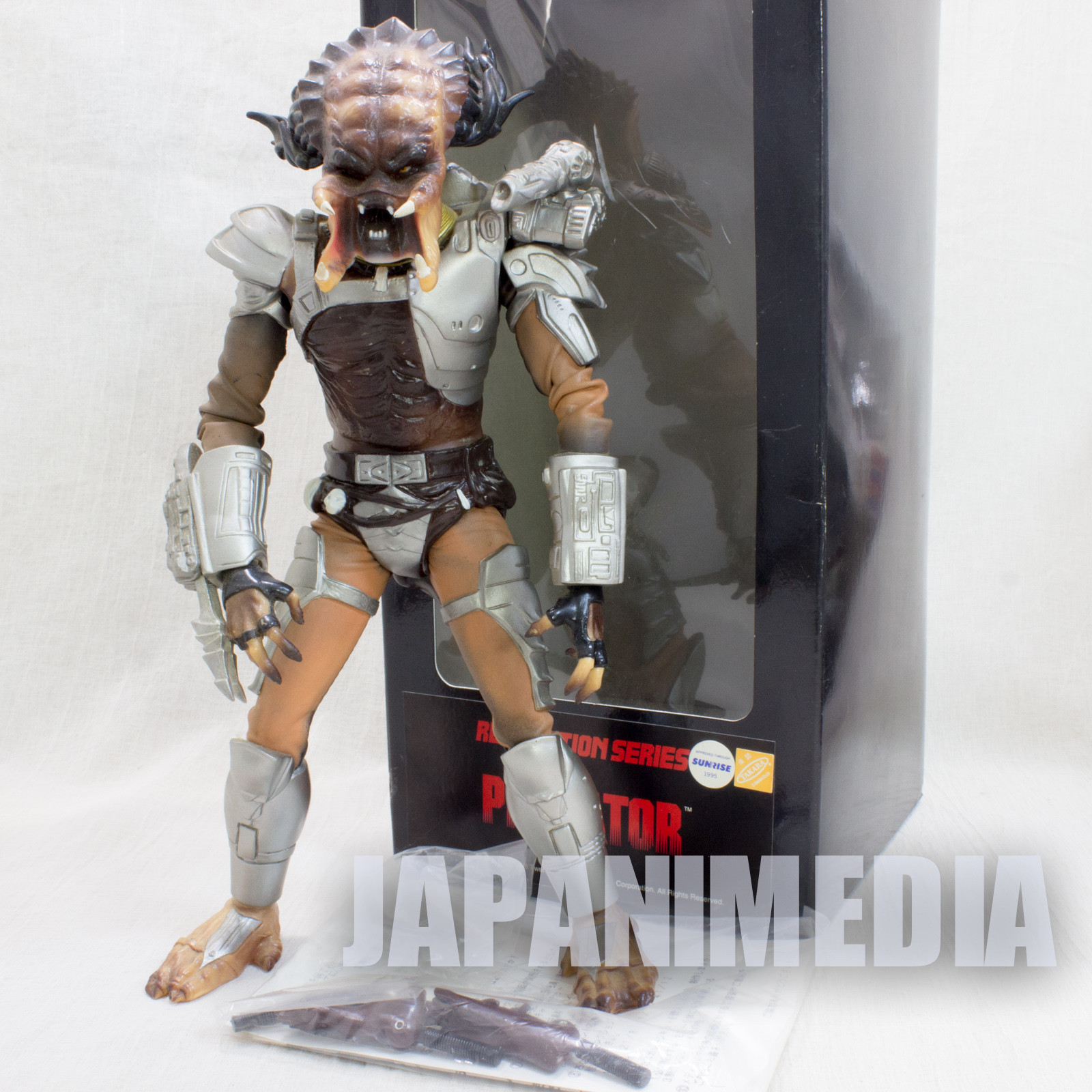 "Predator Warrior Real Action Series 10"" Figure Medicom JAPAN"
