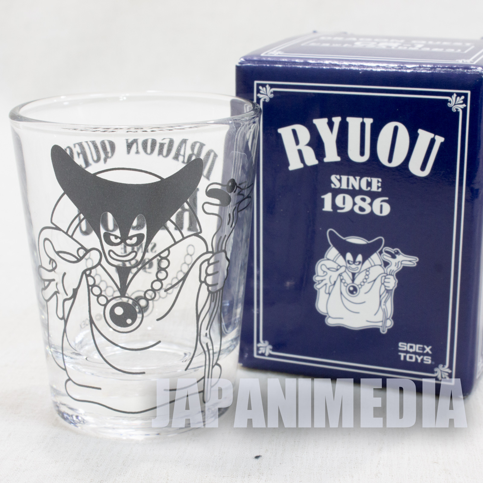 Dragon Quest Ryuou Dragonlord Shot Glass SQEX TOYS JAPAN GAME WARRIOR