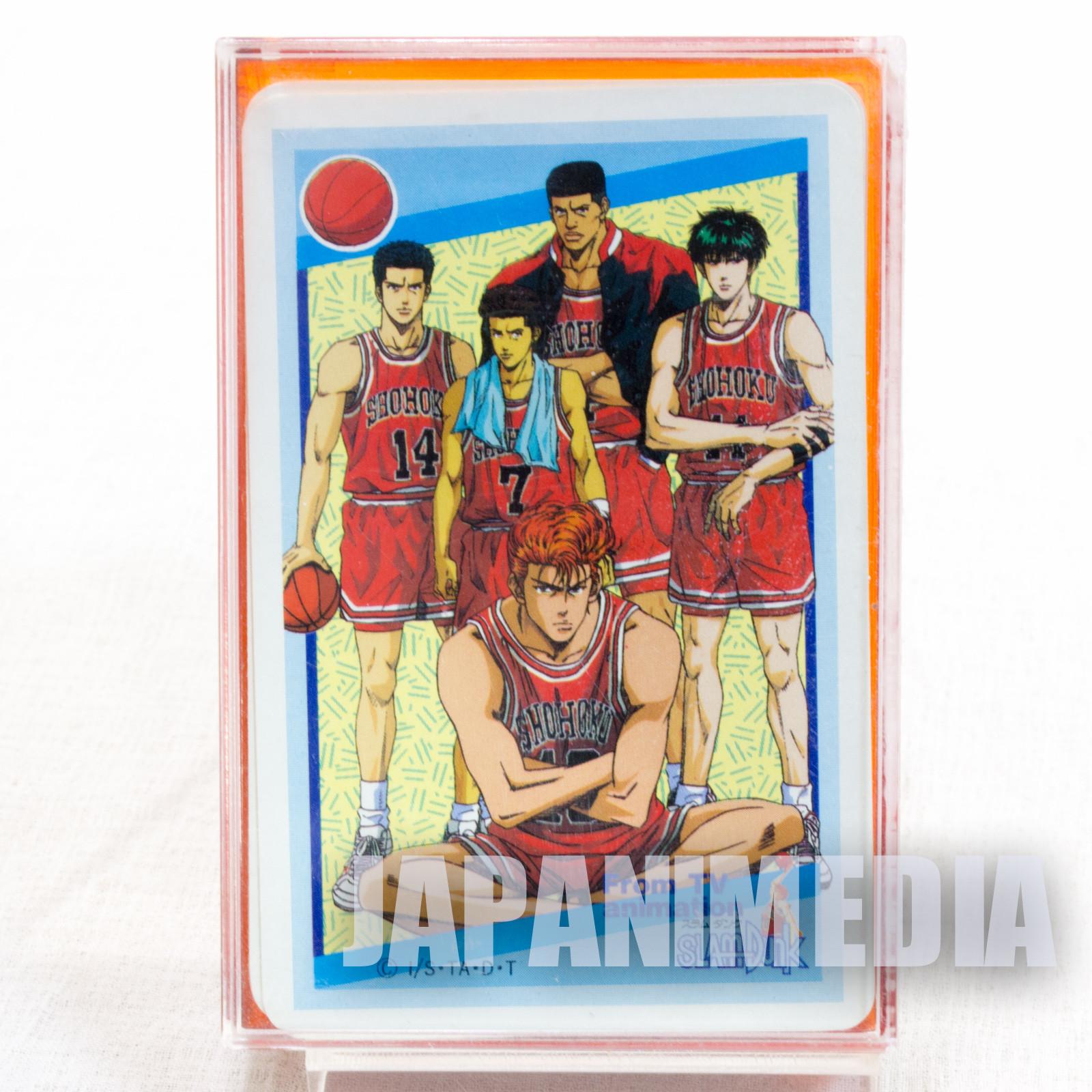 SLAM DUNK Shohoku Playing Cards JAPAN ANIME MANGA