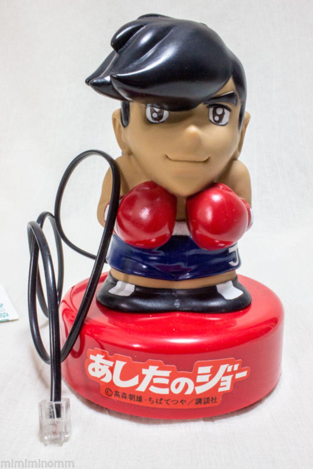 Ashita no Joe Voise Sound Telephone Catcher Figure JAPAN ANIME