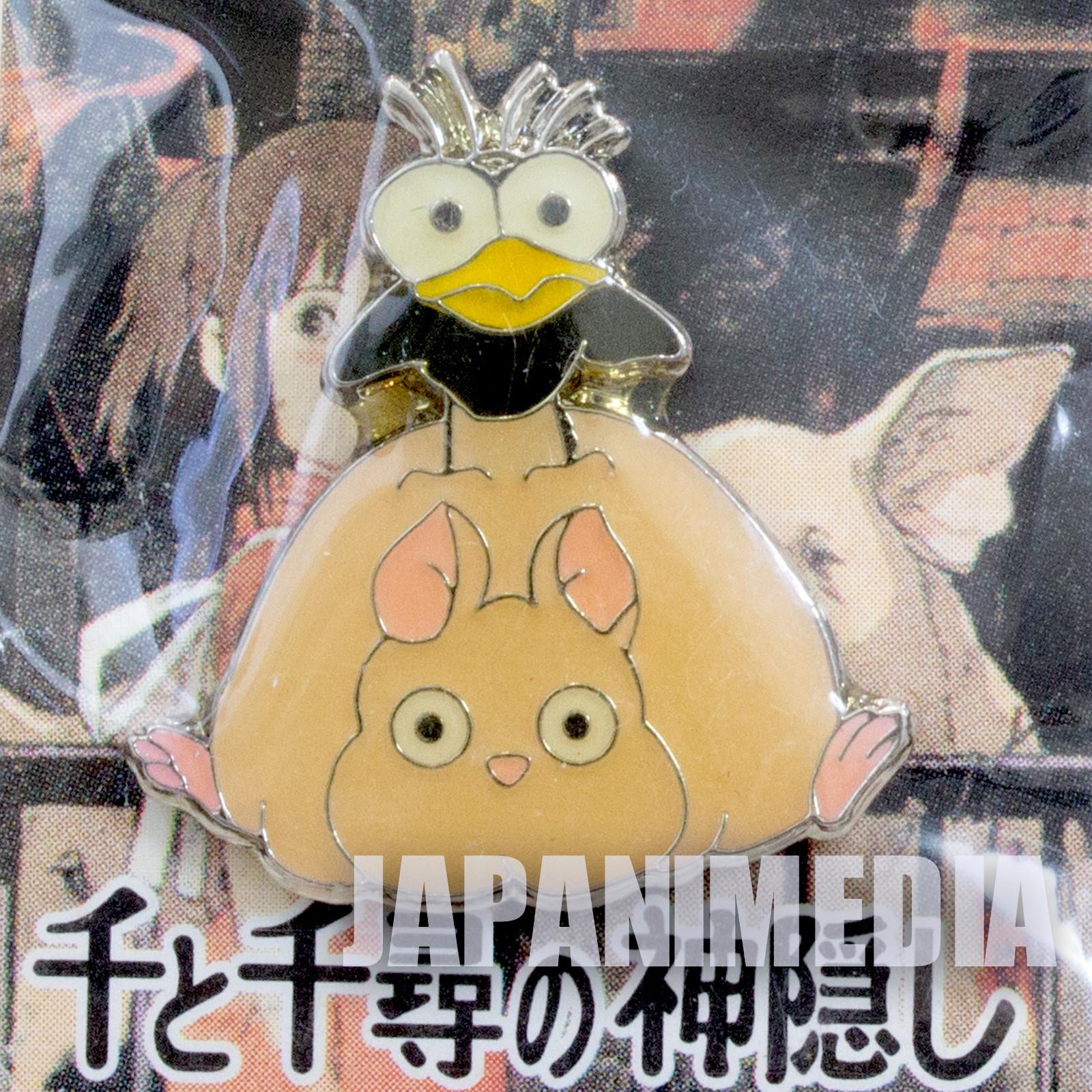 Spirited Away Boh mouse & Bird Pins Ghibli JAPAN ANIME MANGA