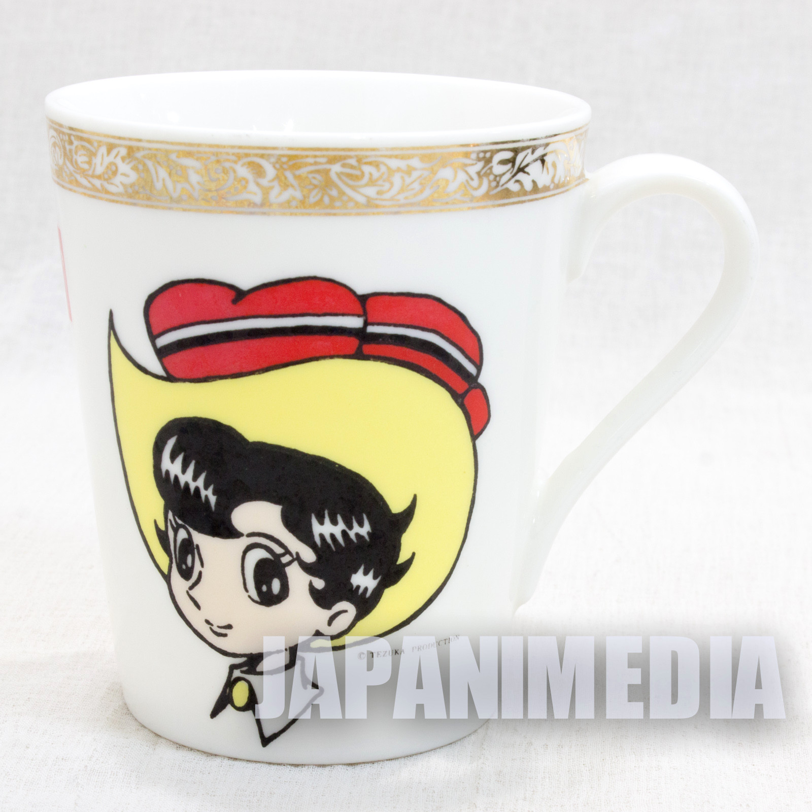 Retro RARE Princess Knight Sapphire Tezuka Osamu Character Mug JAPAN ANIME MANGA