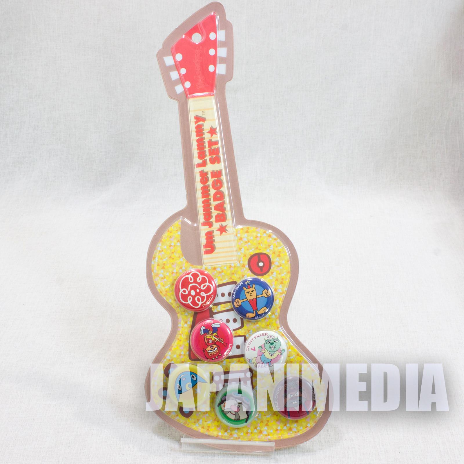 UmJammer Lammy Button badge 7pc set JAPAN ANIME GAME