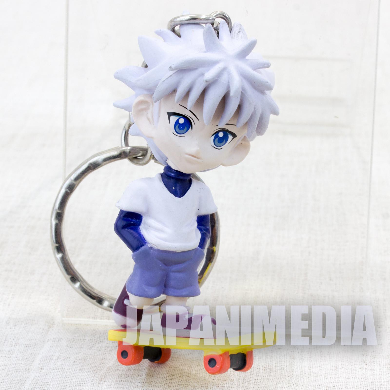 HUNTER x HUNTER Killua Mini Figure Key Holder Chain Banpresto JAPAN ANIME 3