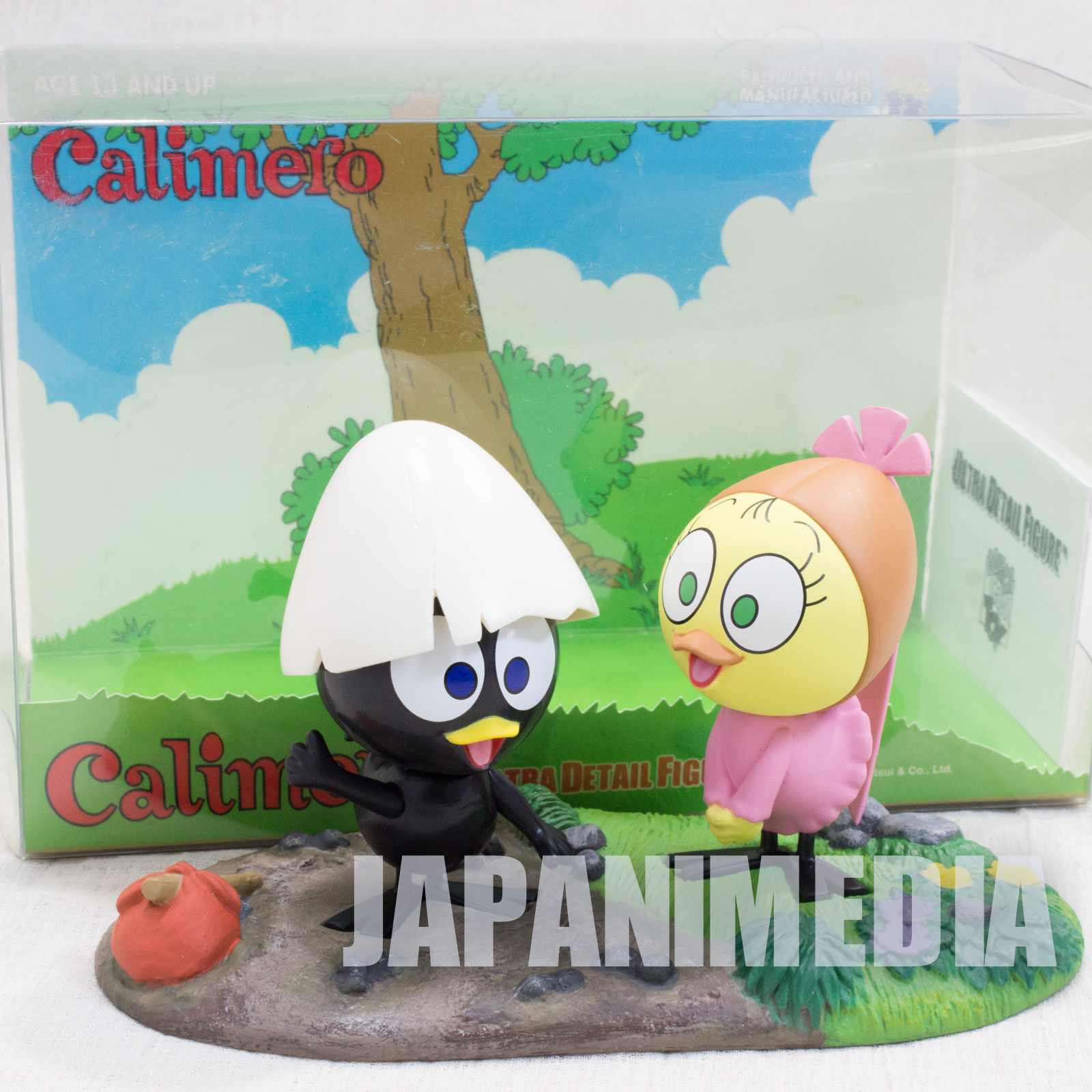 Calimero Calimero & Priscilla Ultra Detail Figure Medicom Toy JAPAN ANIME